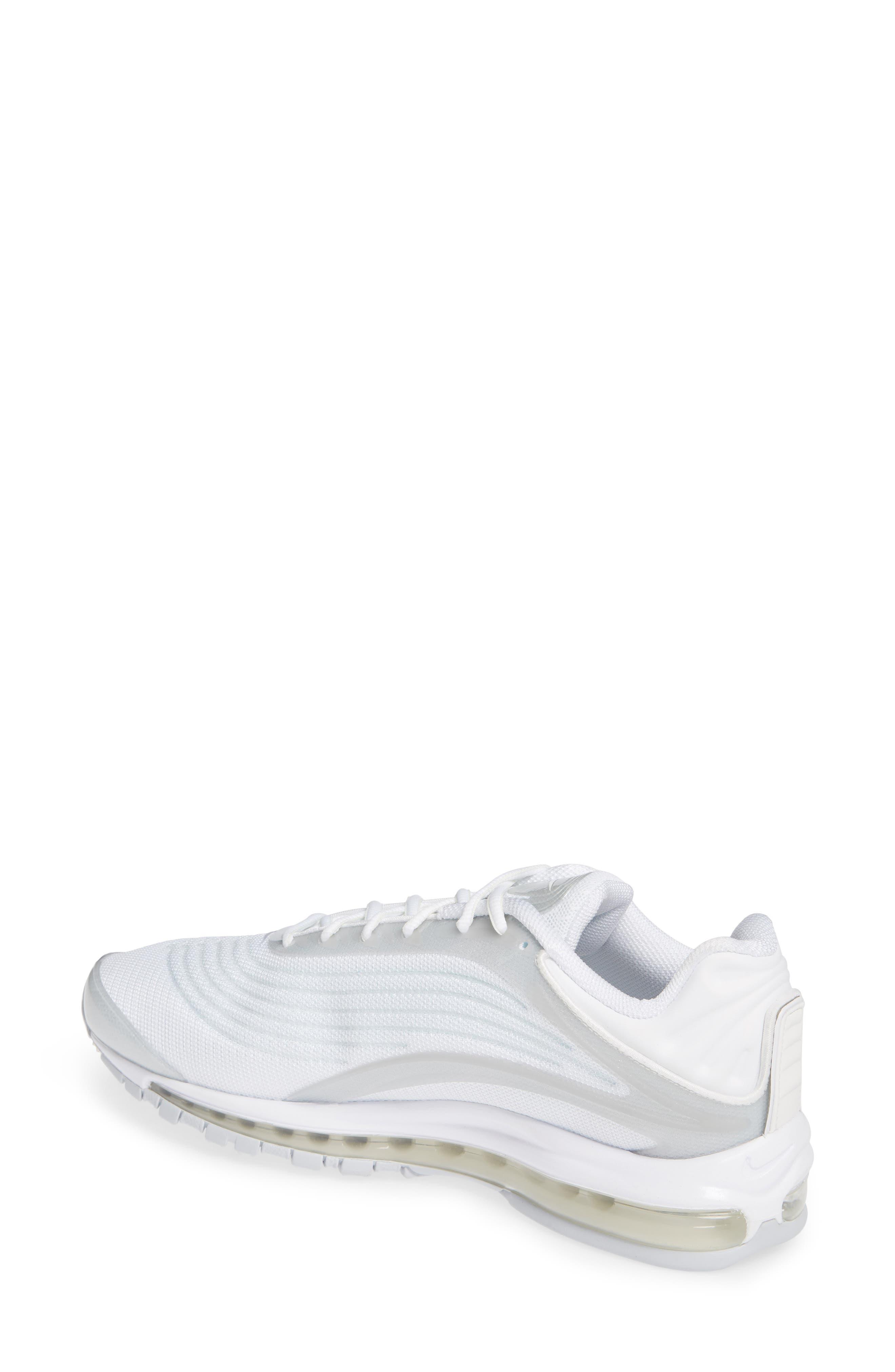 NIKE,                             Air Max Deluxe Sneaker,                             Alternate thumbnail 2, color,                             WHITE/ SAIL/ PURE PLATINUM