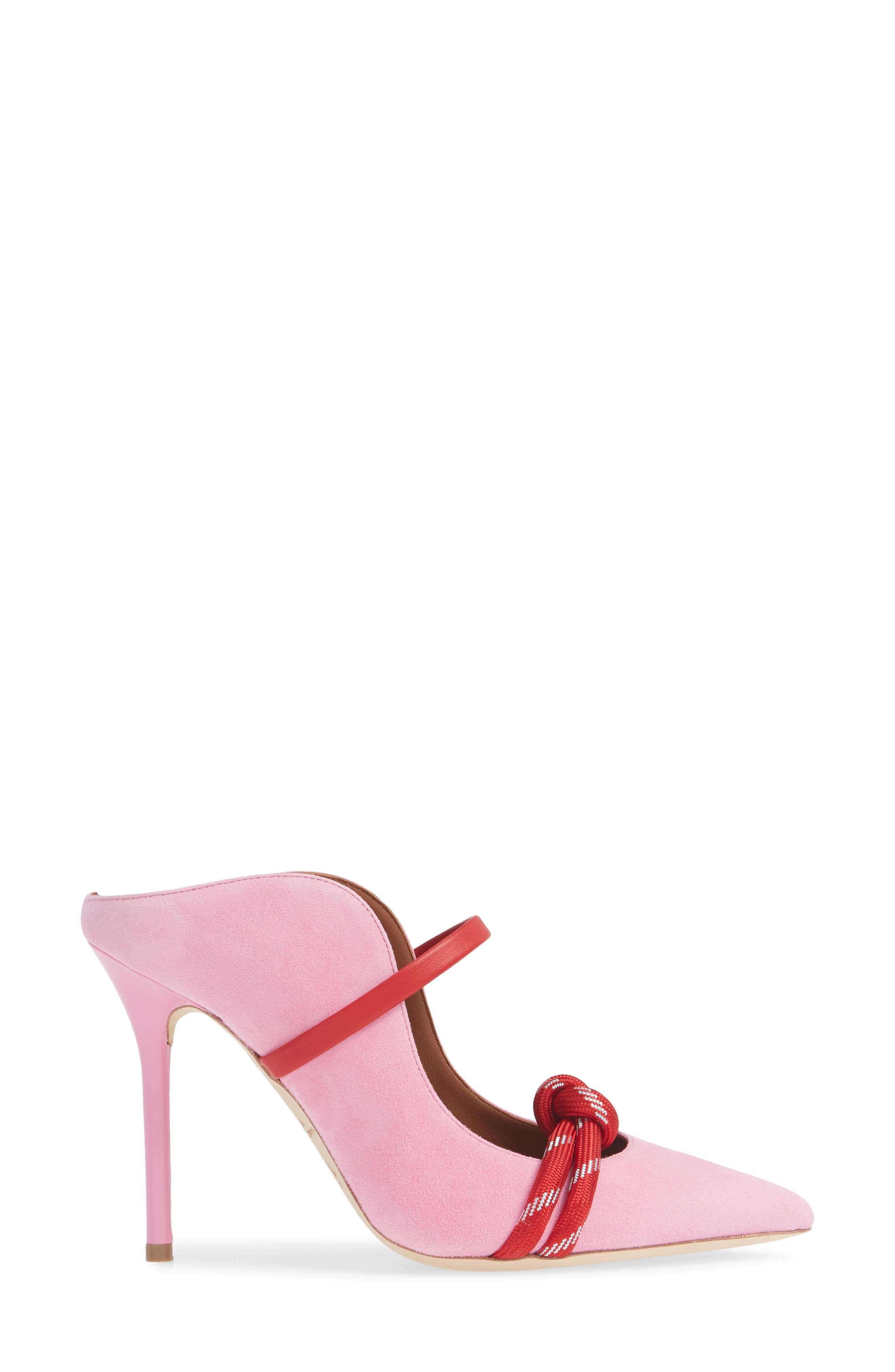 MALONE SOULIERS,                             Rope Pump,                             Alternate thumbnail 3, color,                             BUBBLEGUM/ RED