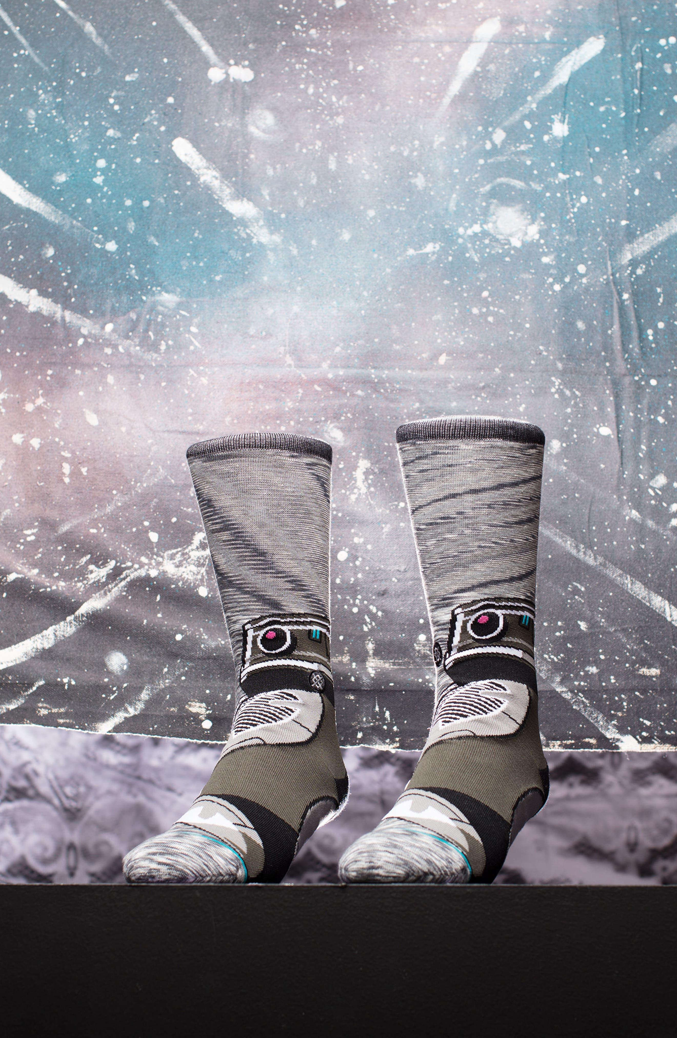 Star Wars<sup>™</sup> Droid 3-Pack Socks,                             Alternate thumbnail 6, color,                             960