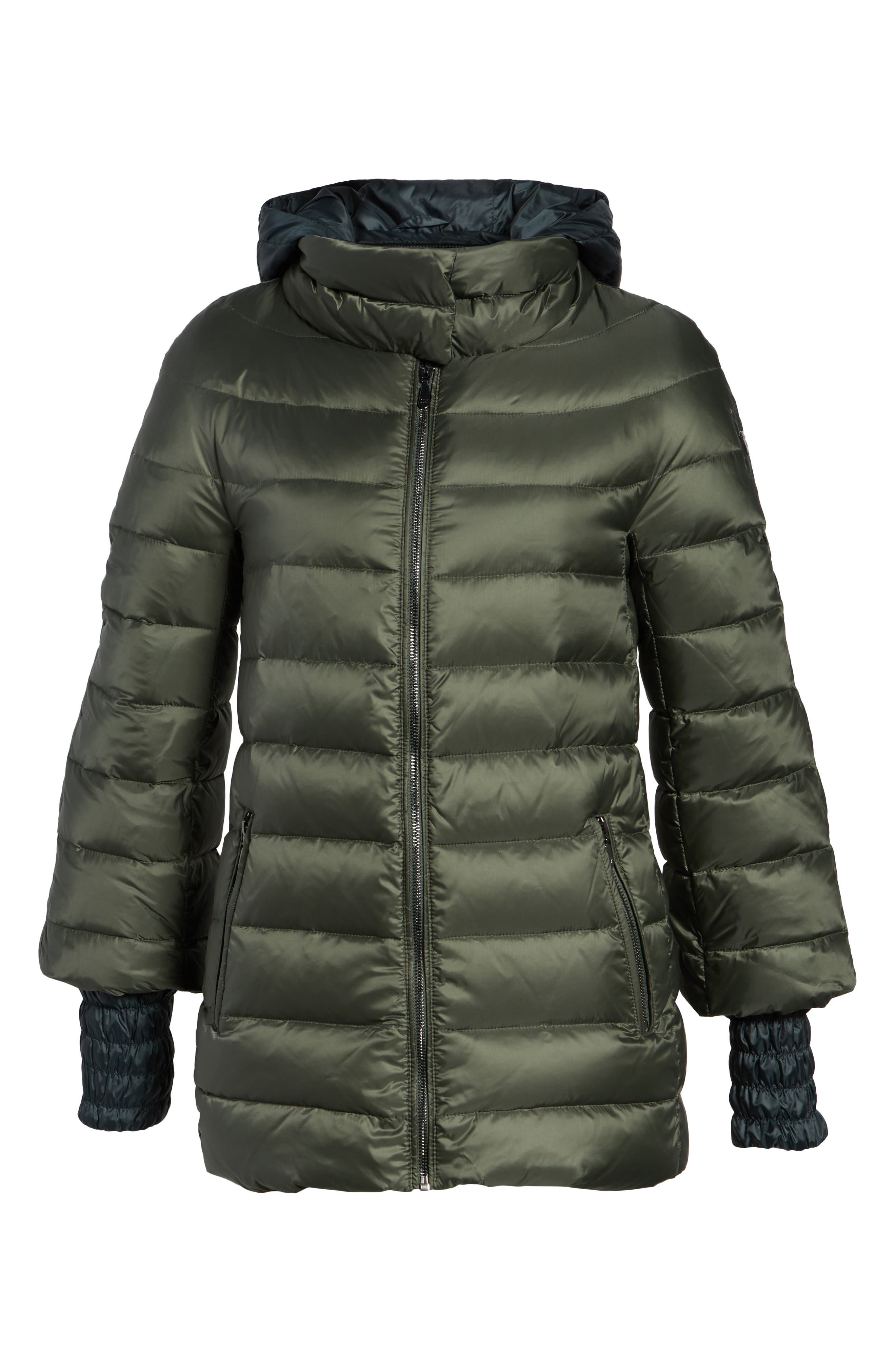 3-in-1 Layered Packable Quilted Down Coat,                             Alternate thumbnail 10, color,