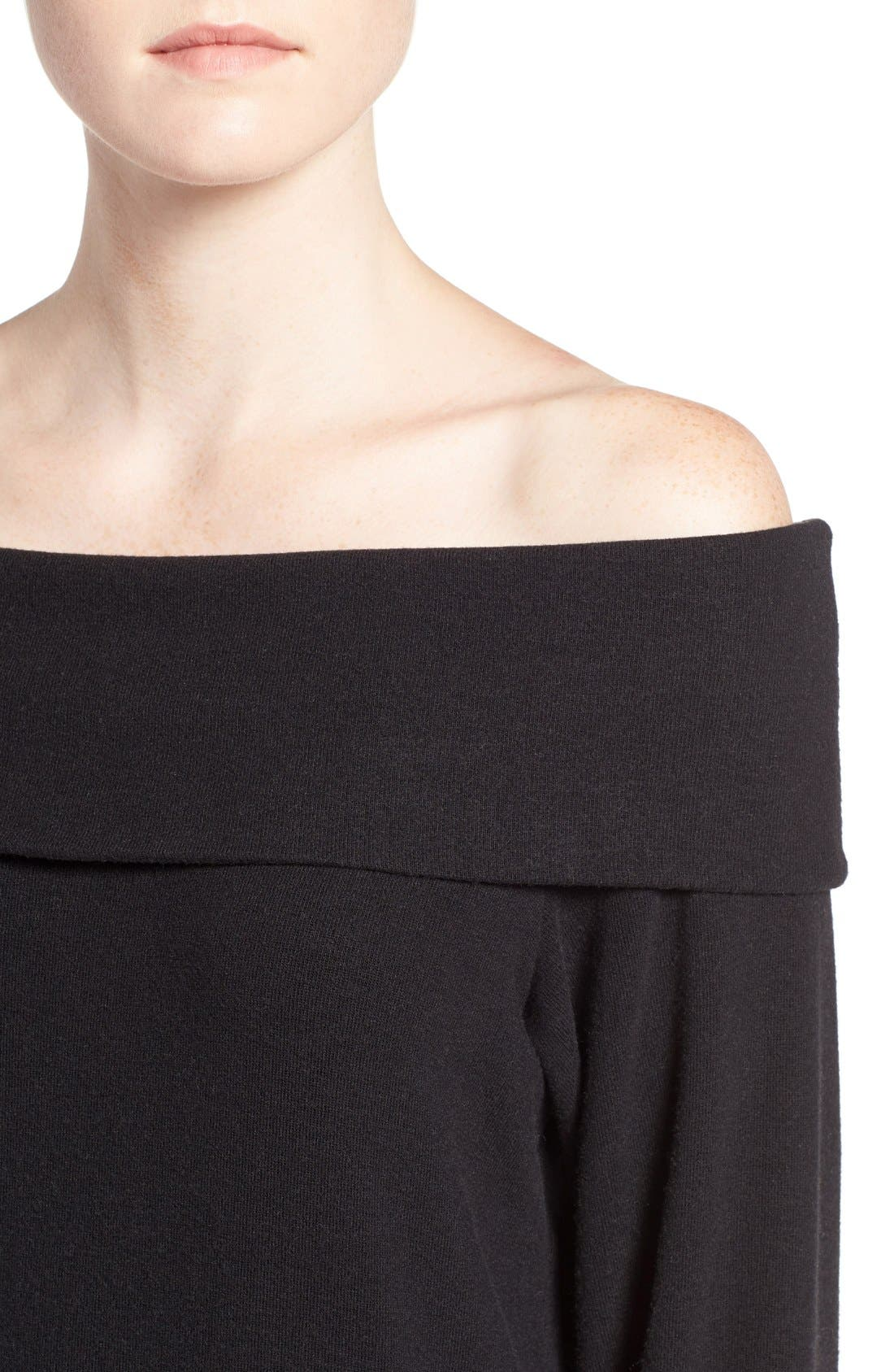 'Brooklyn' Off the Shoulder Top,                             Alternate thumbnail 18, color,