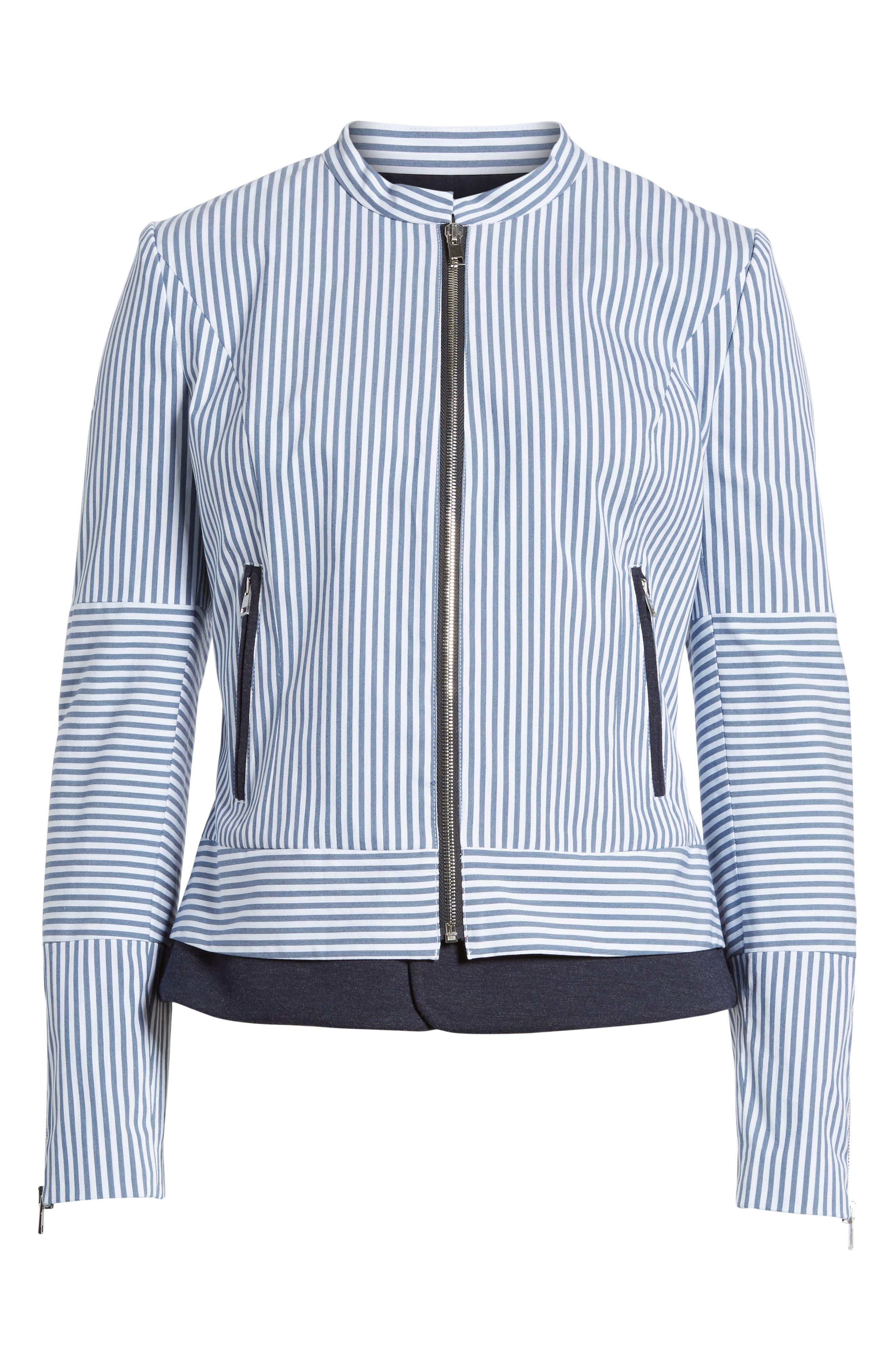 Stripe Jacket,                             Alternate thumbnail 5, color,                             410