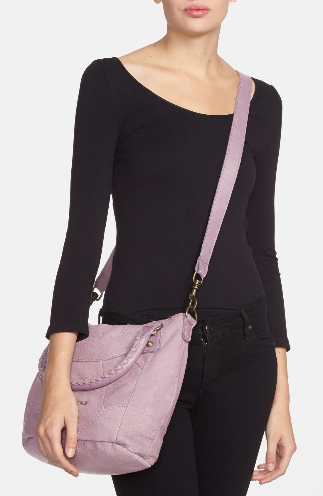 'Vintage Gina' Soft Leather Handbag,                             Alternate thumbnail 4, color,                             500