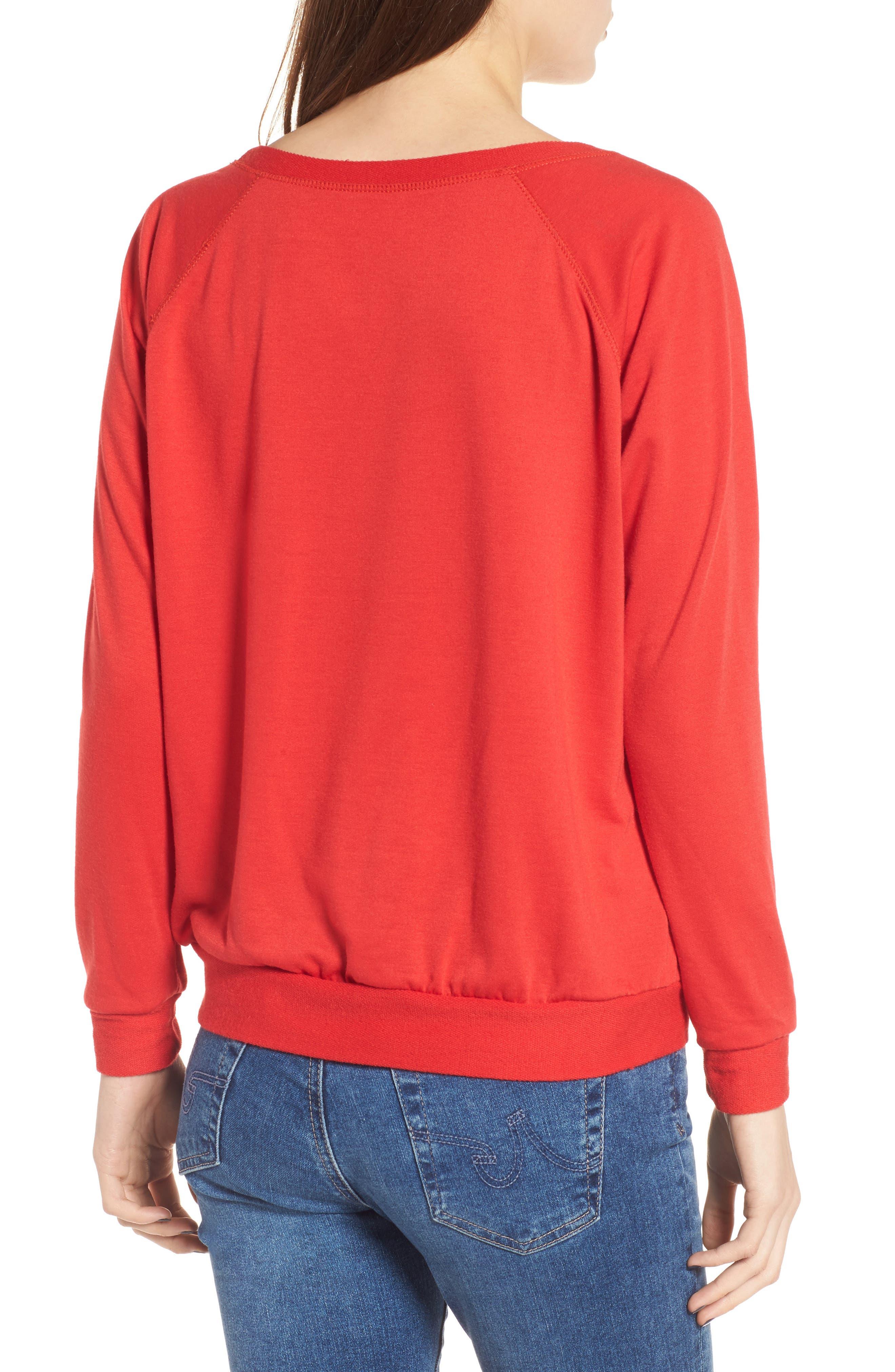 Let's Get Blitzen Sweatshirt,                             Alternate thumbnail 2, color,                             600