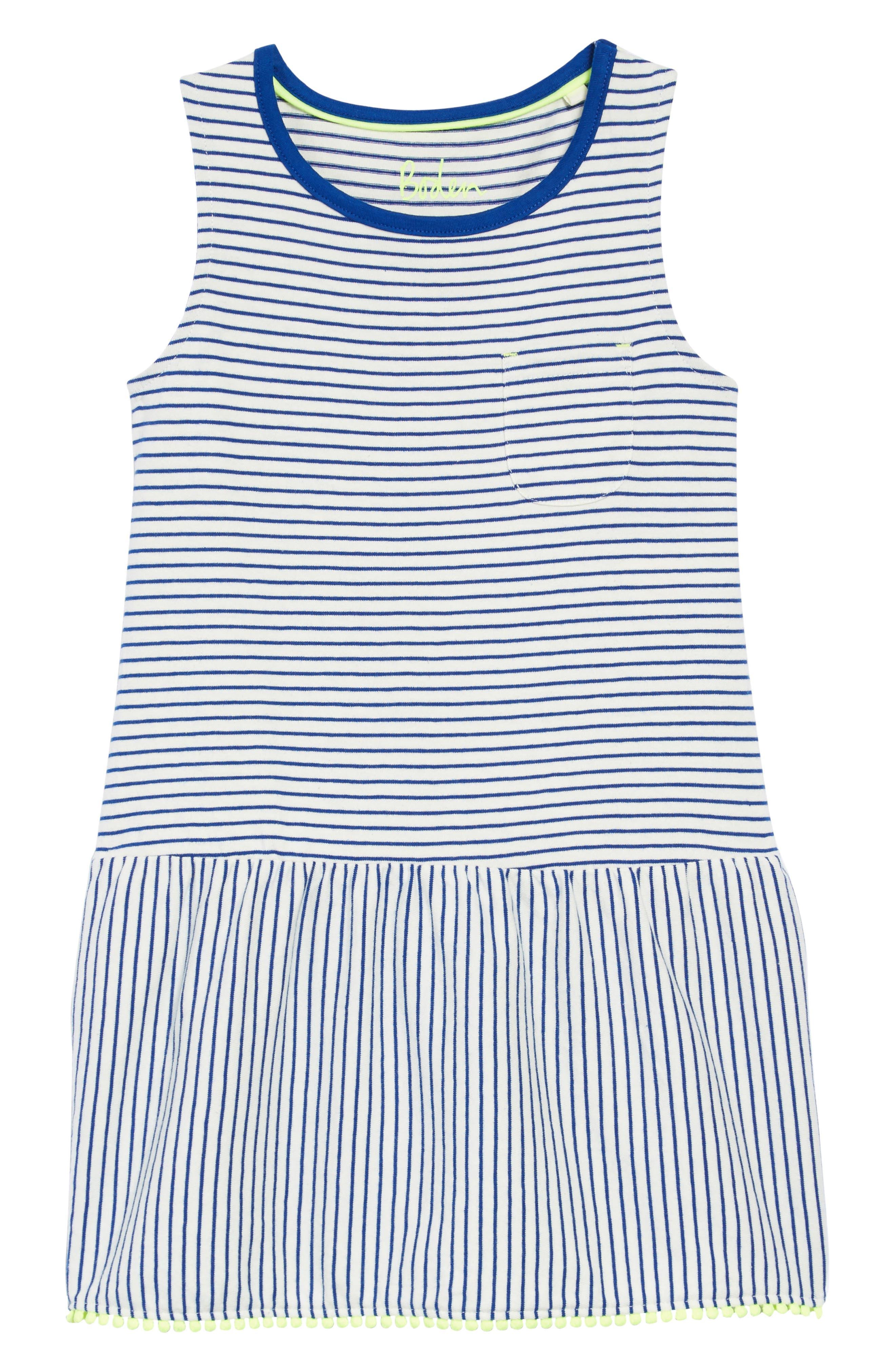 Drop-Waist Jersey Dress,                             Main thumbnail 1, color,
