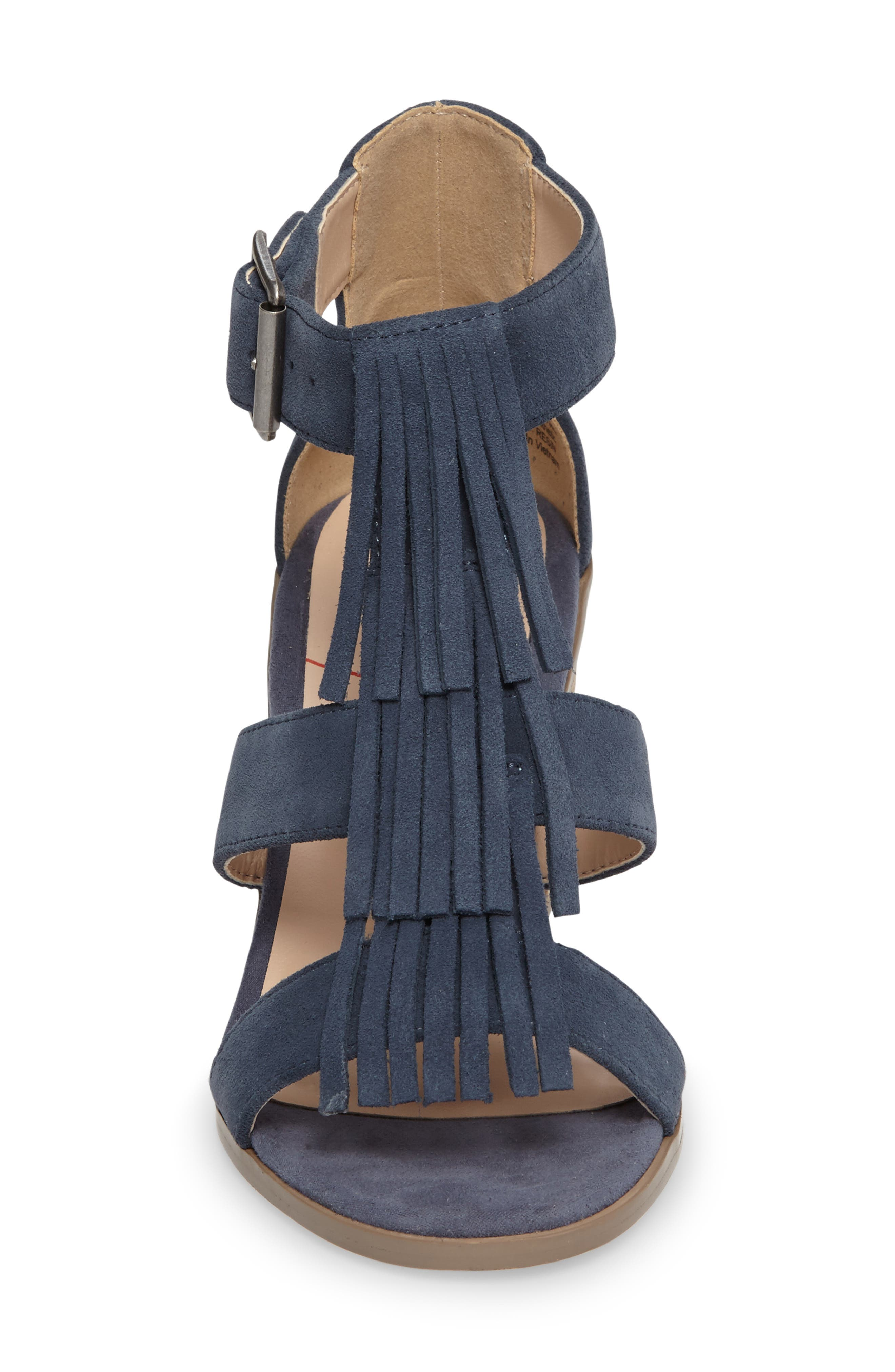 'Delilah' Fringe Sandal,                             Alternate thumbnail 23, color,