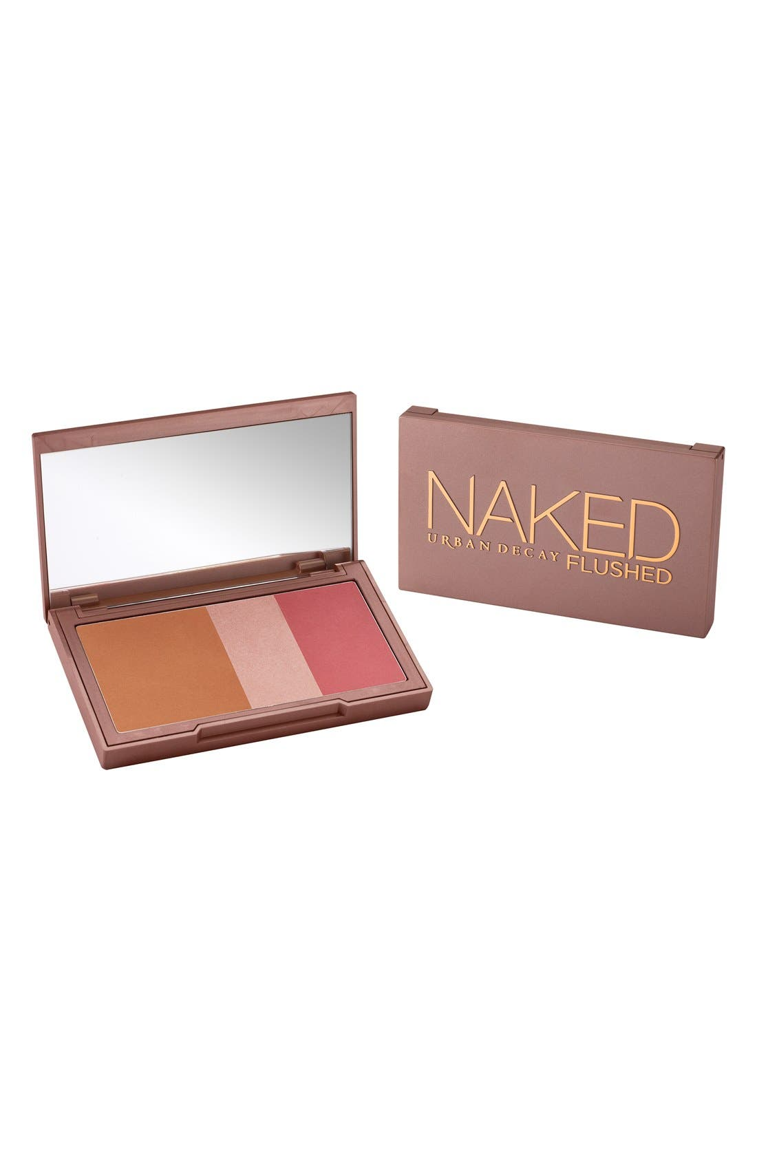 Naked Flushed Bronzer, Highlighter & Blush Palette,                             Alternate thumbnail 5, color,                             NAKED