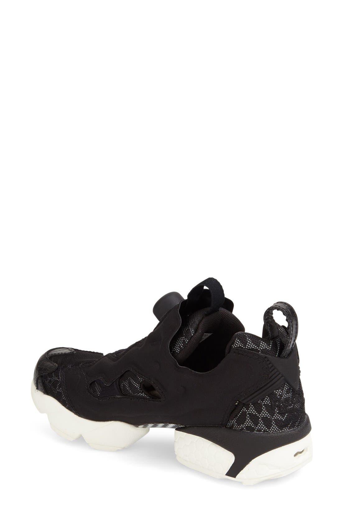 'Instapump Fury Tech' Sneaker,                             Alternate thumbnail 2, color,                             001