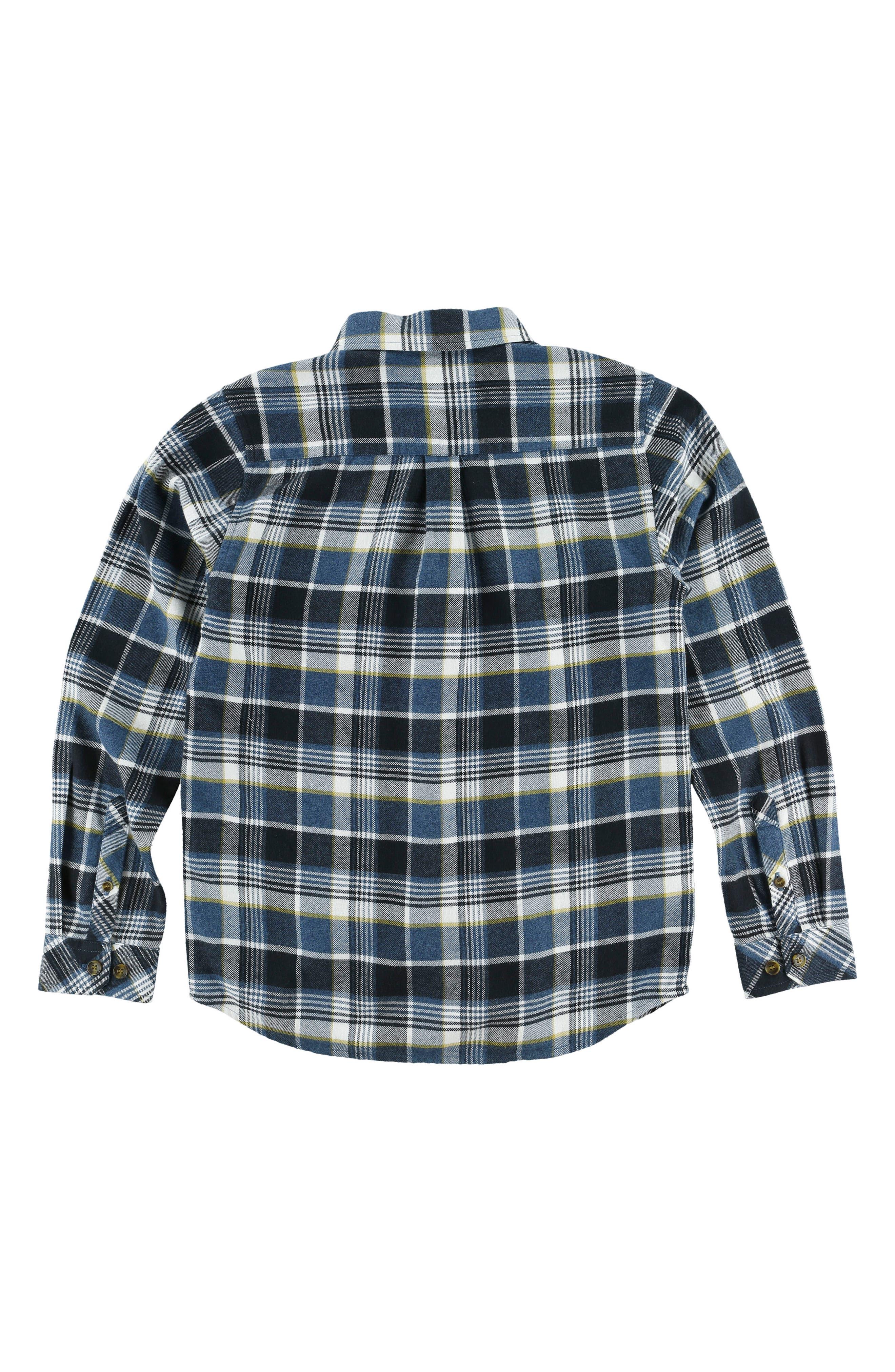Redmond Flannel Shirt,                             Alternate thumbnail 4, color,