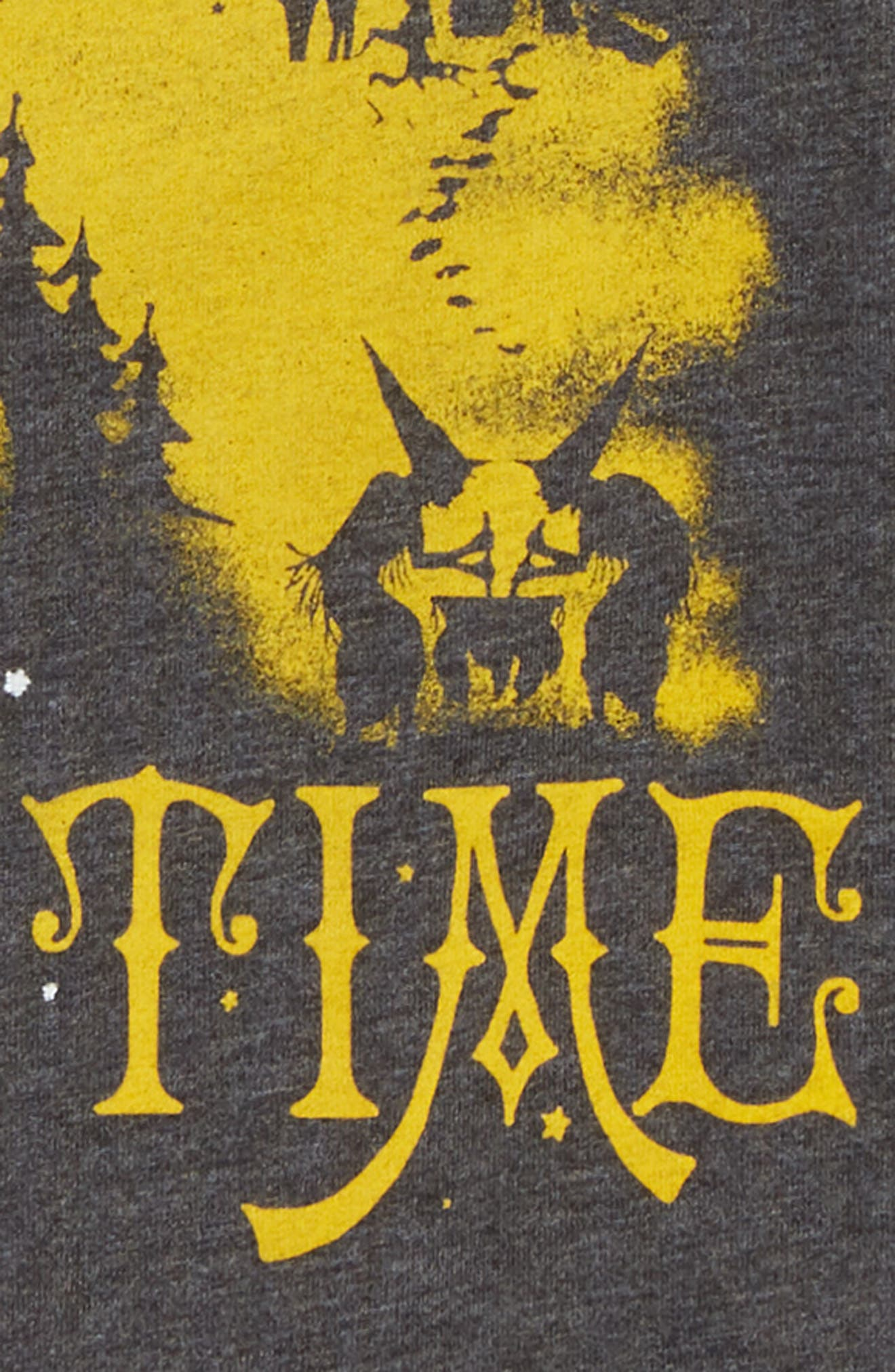 Once Upon a Time Graphic Tee,                             Alternate thumbnail 2, color,                             BLACK