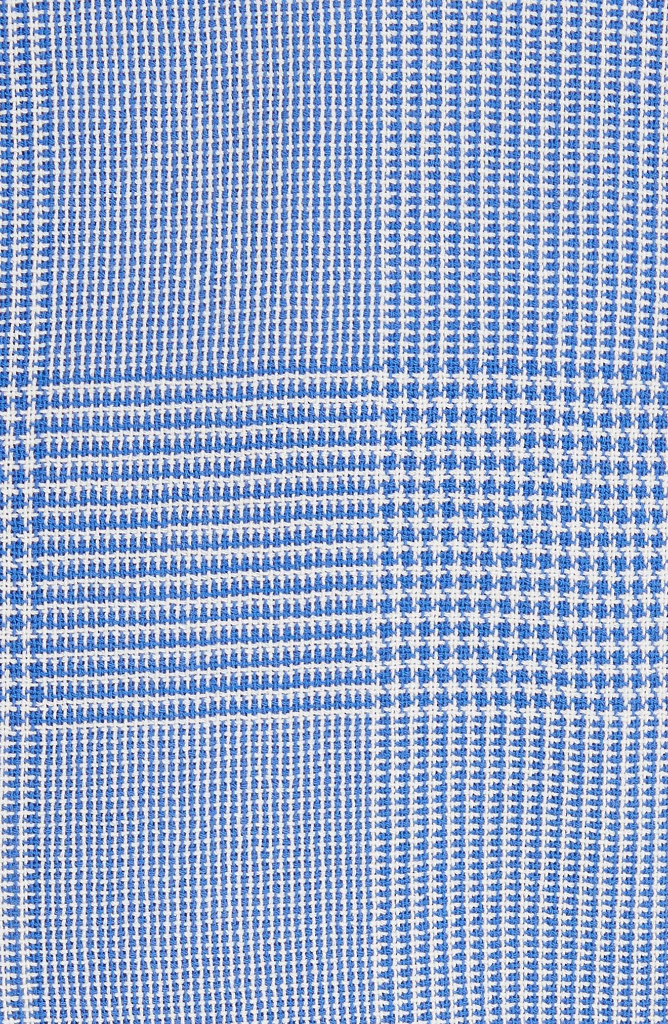 Ballata Check Wool Blazer,                             Alternate thumbnail 6, color,                             404