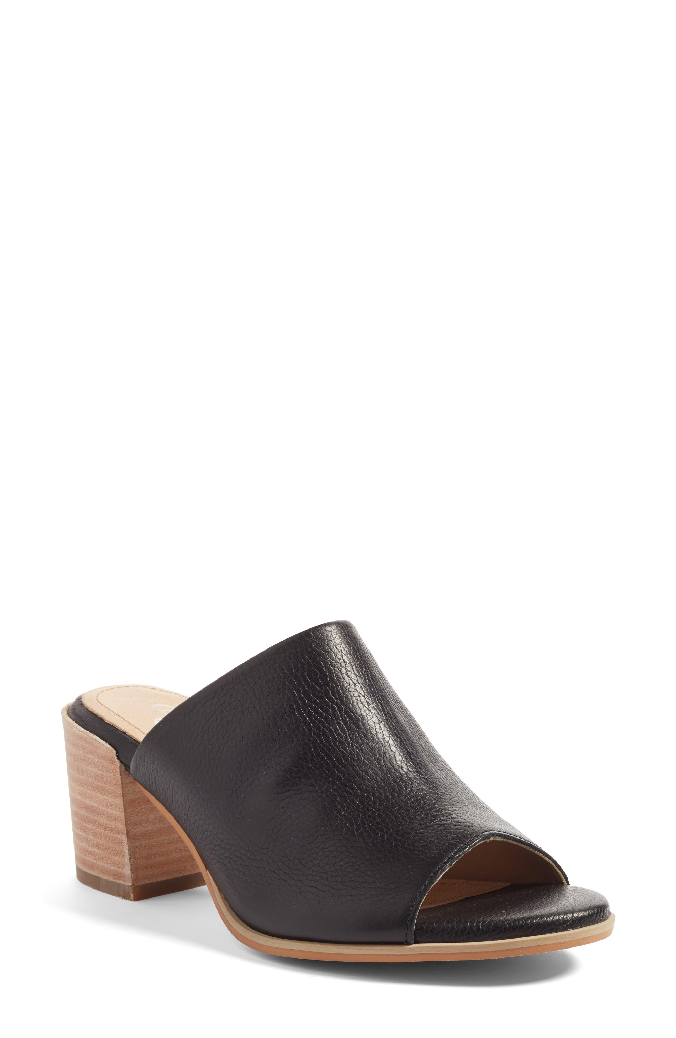 Malin Block Heel Sandal,                             Main thumbnail 1, color,                             001