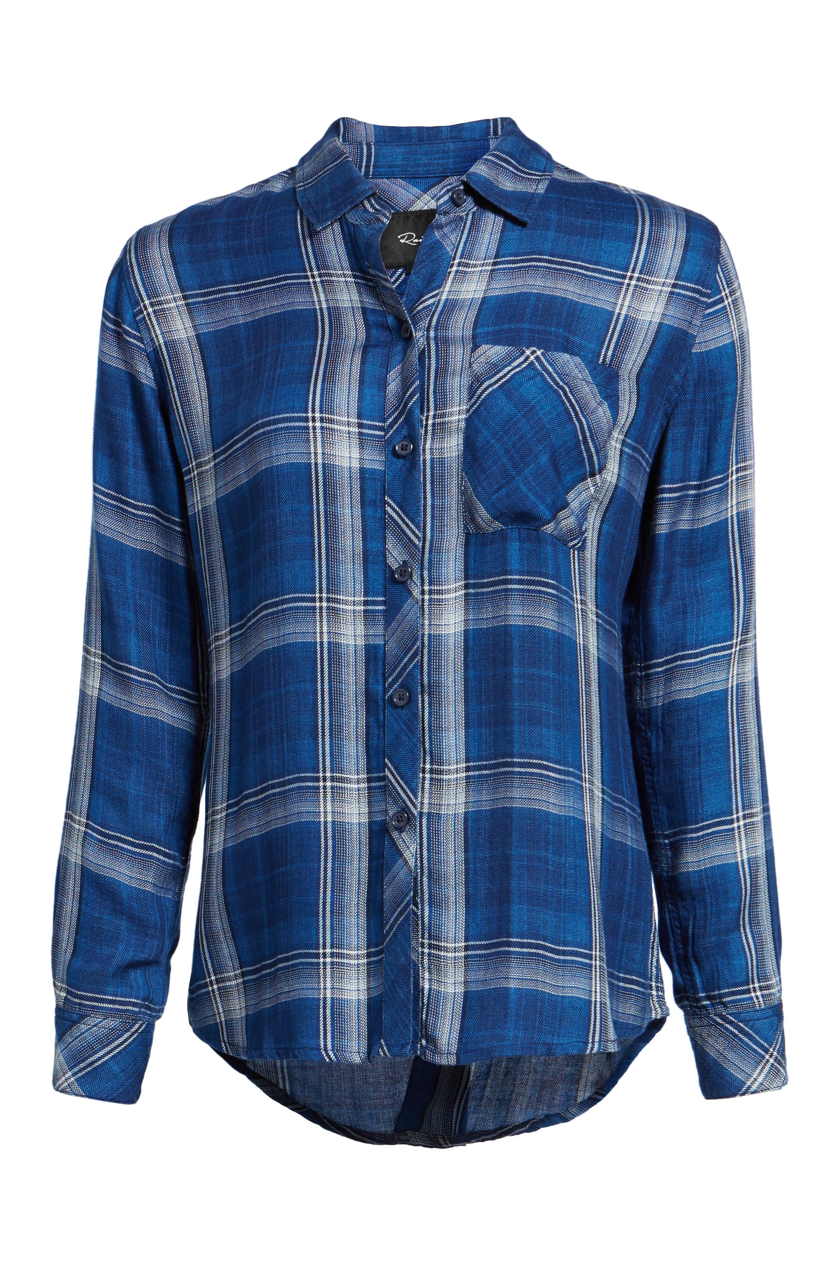 Hunter Plaid Shirt,                             Alternate thumbnail 715, color,