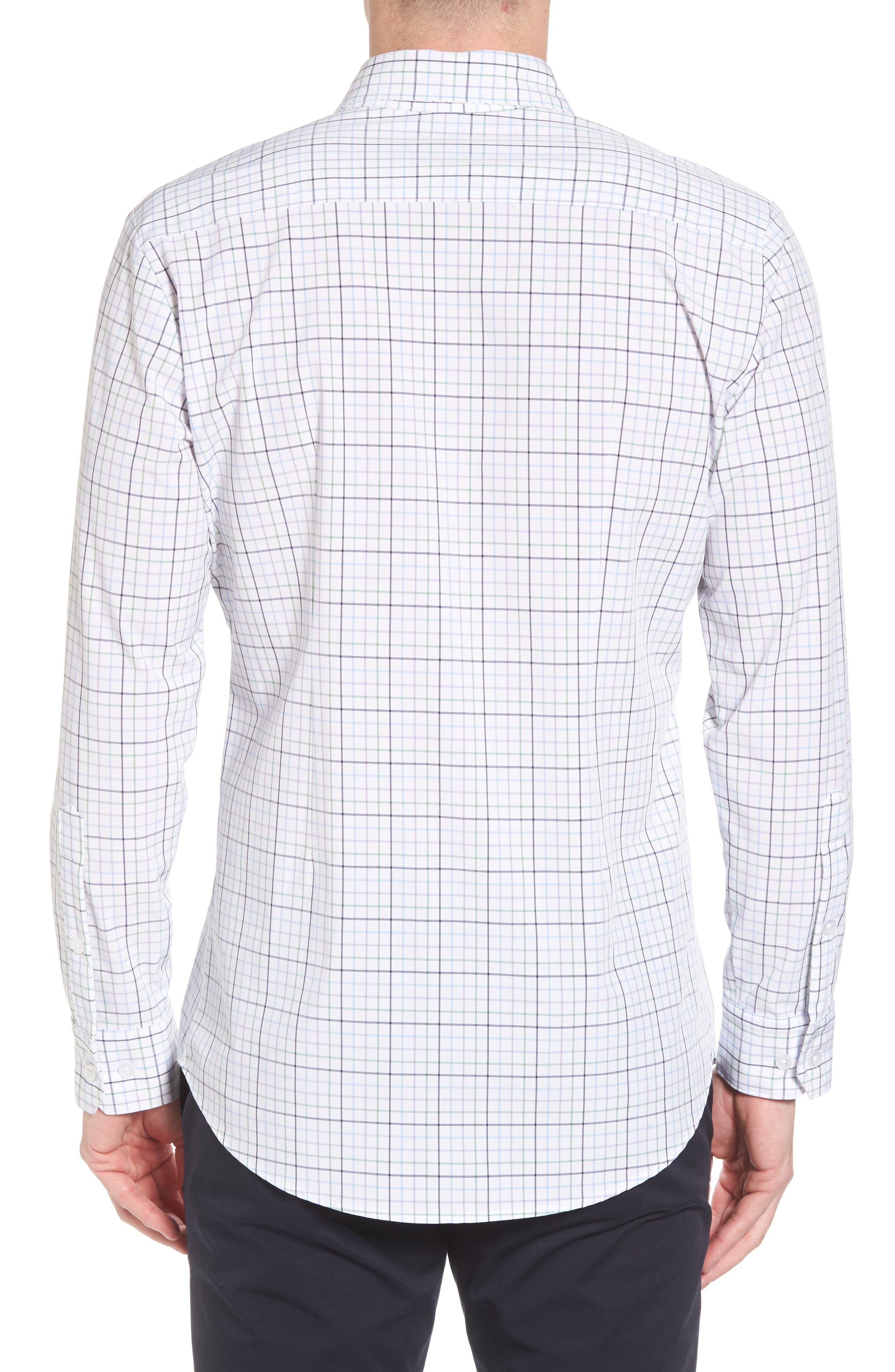 Robertson Check Performance Sport Shirt,                             Alternate thumbnail 2, color,                             585