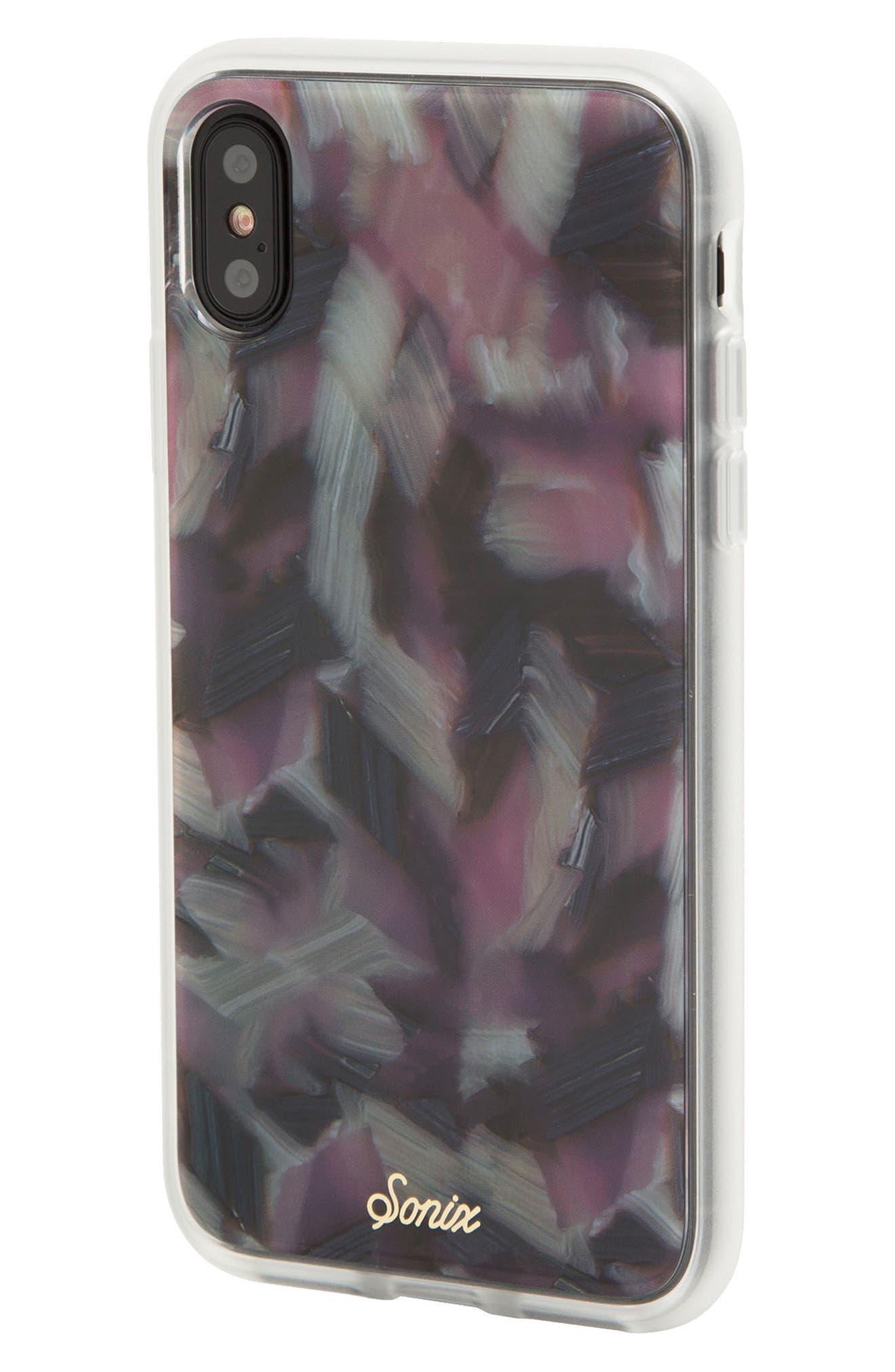 Tortoise Print iPhone X Case,                             Alternate thumbnail 2, color,                             650