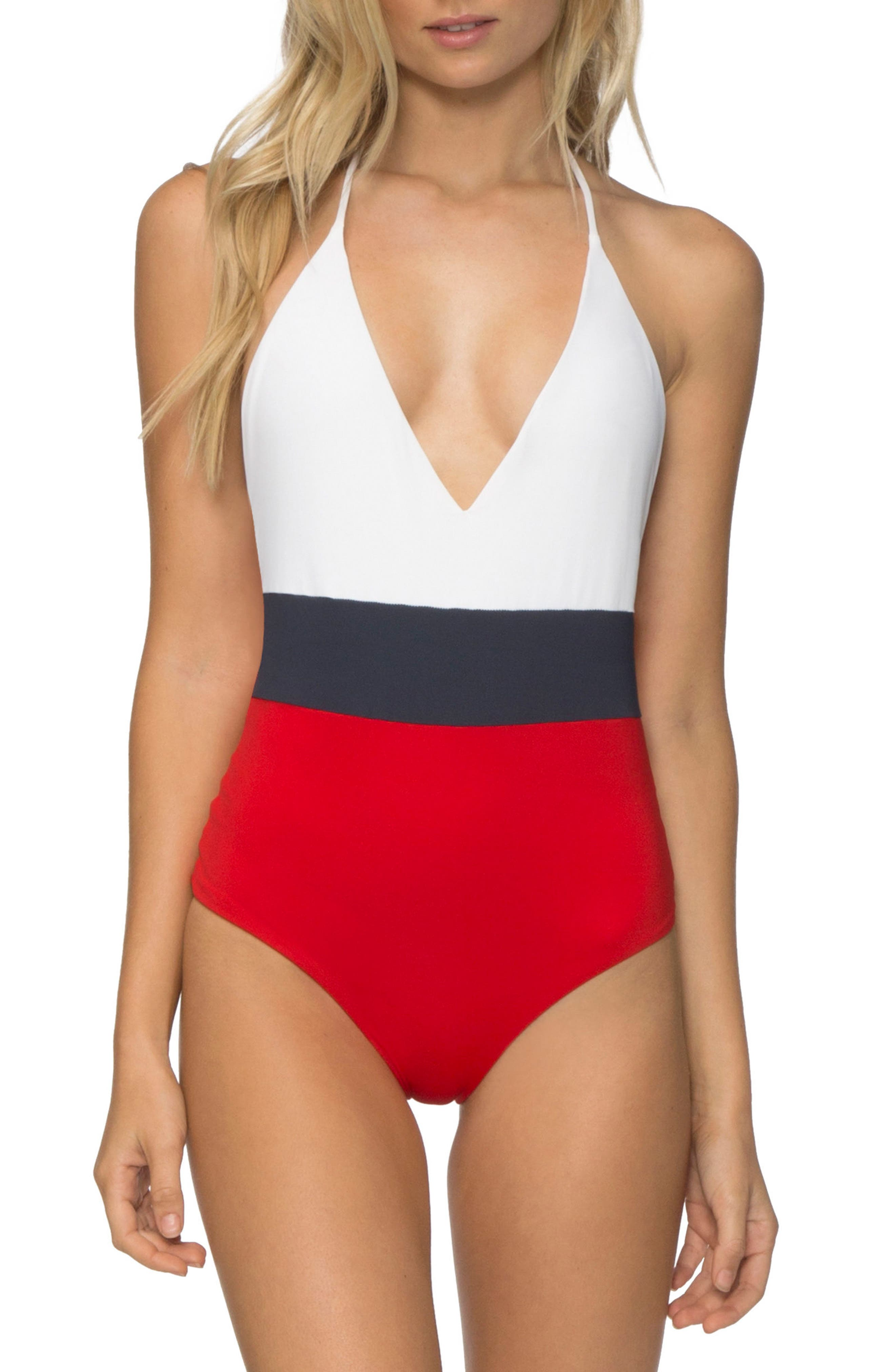 Chase One-Piece Swimsuit,                             Main thumbnail 1, color,                             119