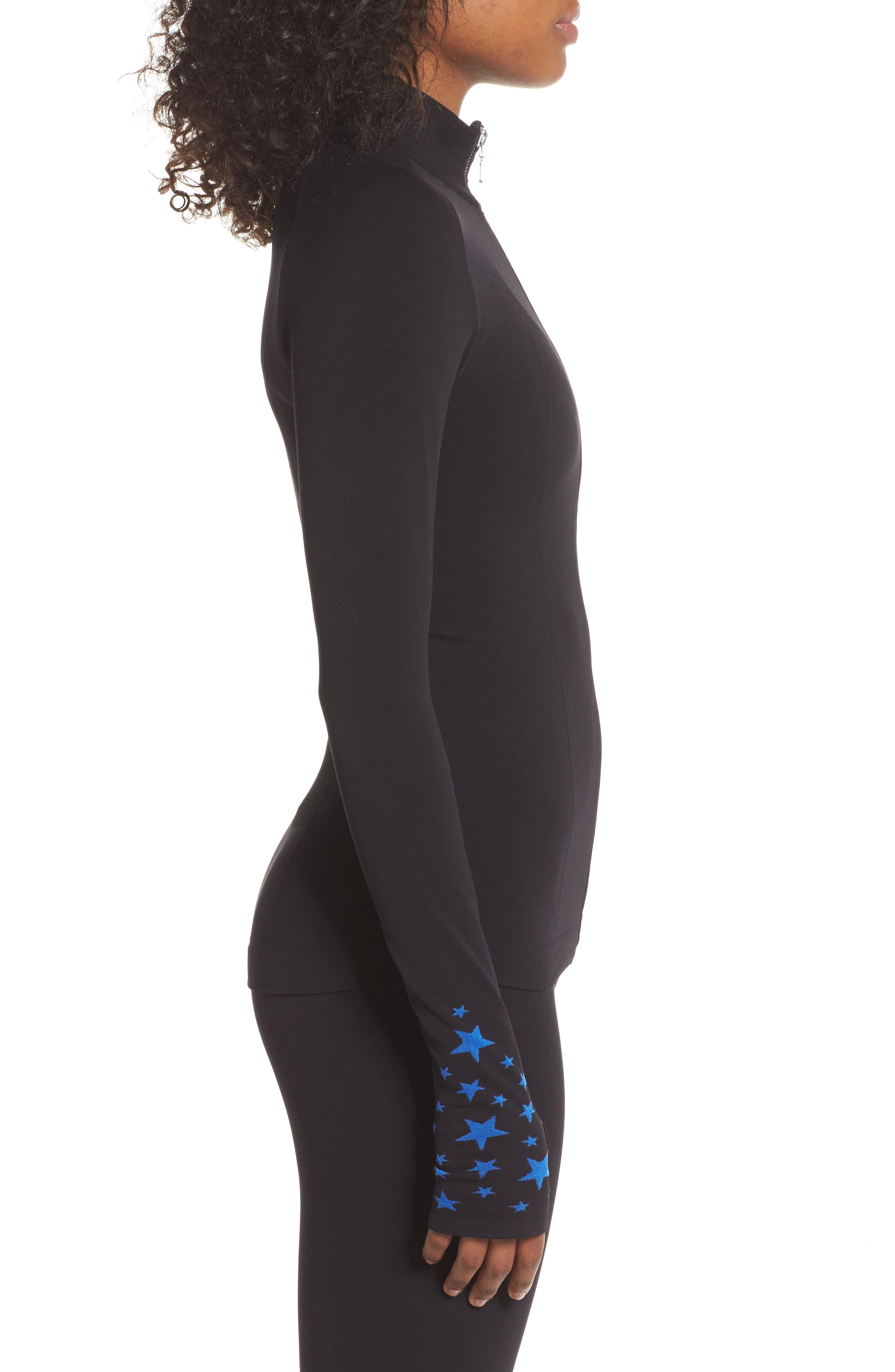 BoomBoom Athletica Seamless Star Jacket,                             Alternate thumbnail 3, color,                             006