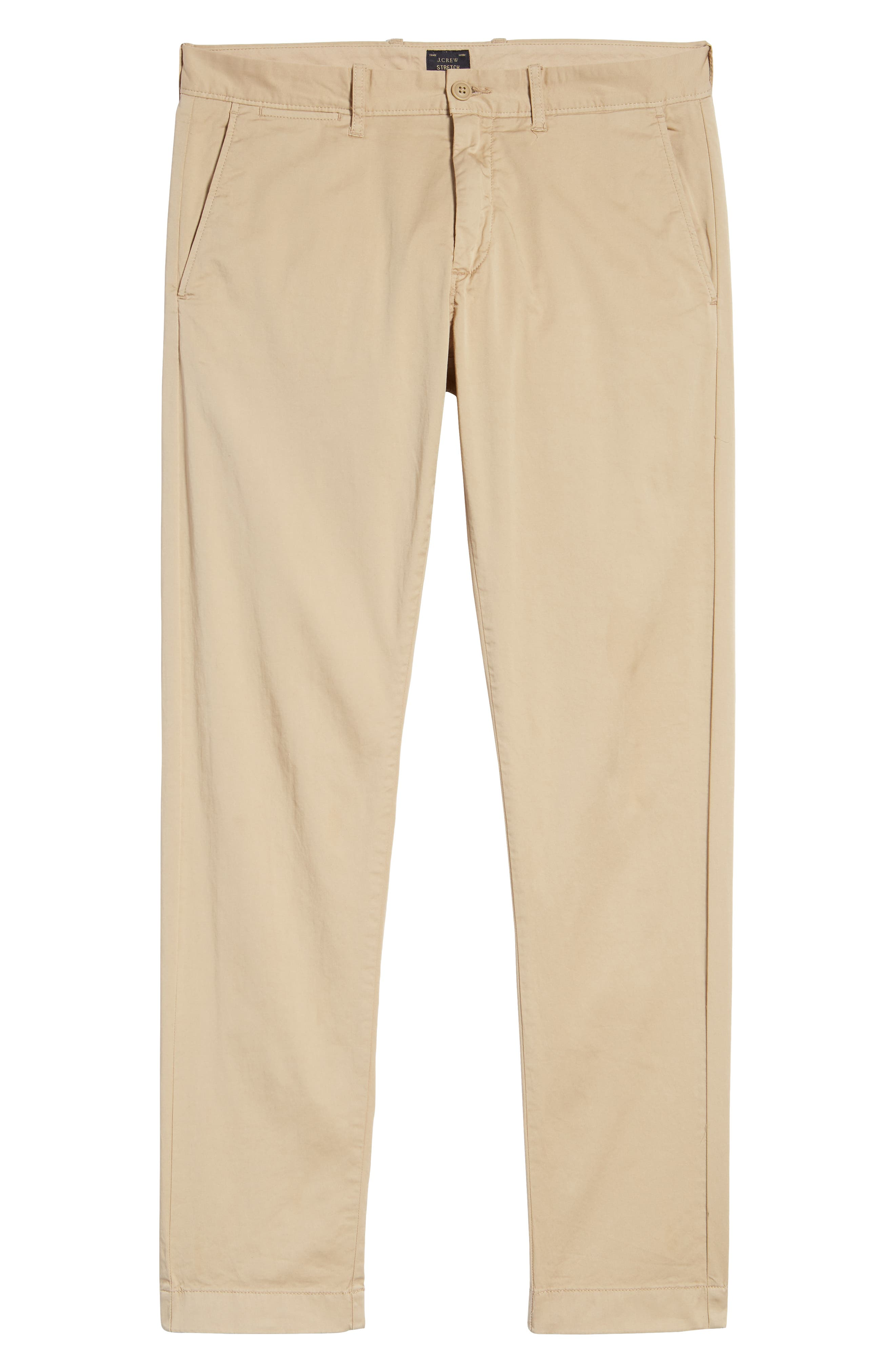 Slim Fit Garment Dyed Stretch Chinos,                             Alternate thumbnail 15, color,
