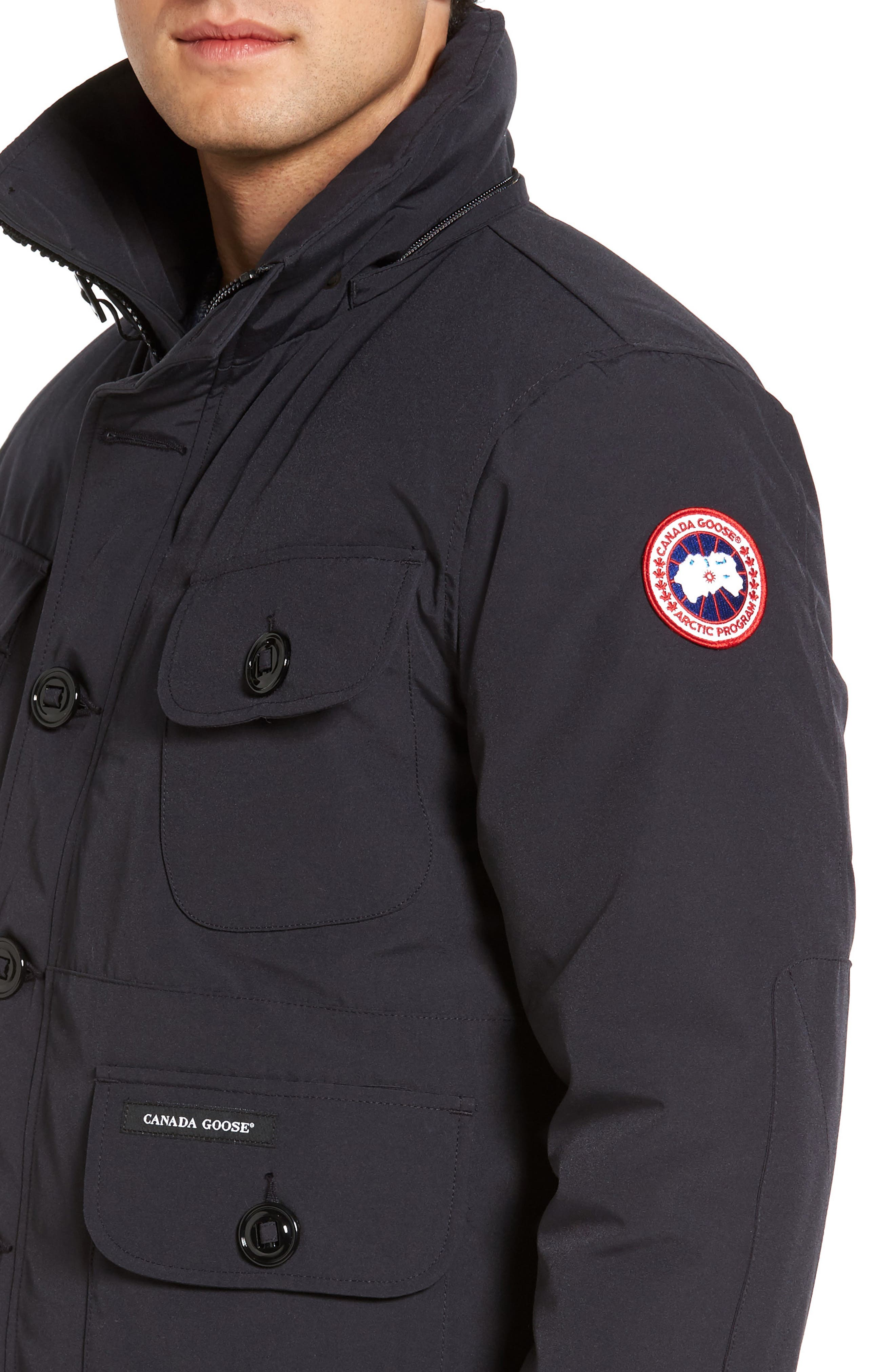 'Selkirk' Slim Fit Water Resistant Down Parka with Detachable Hood,                             Alternate thumbnail 11, color,