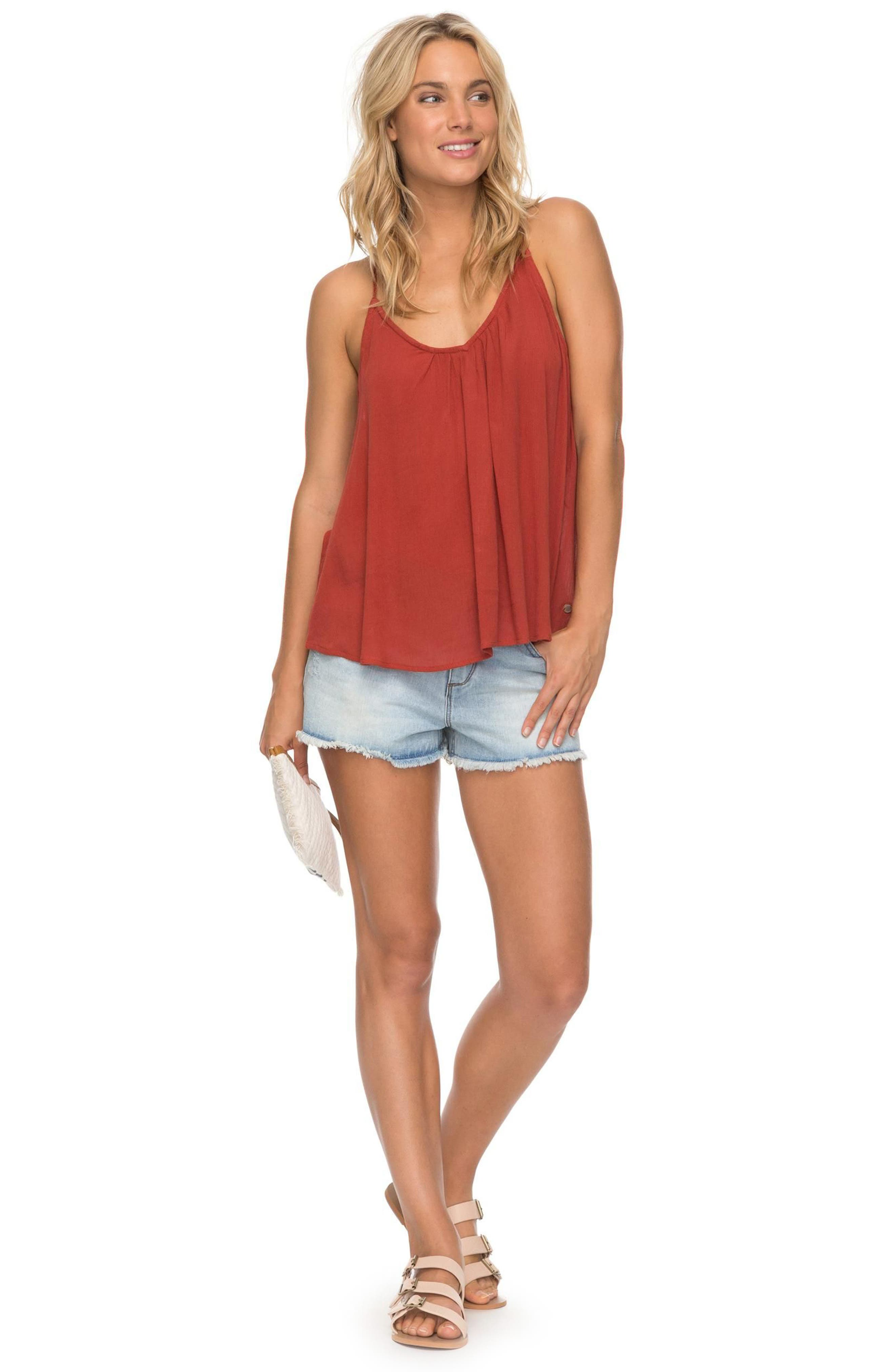 Local in the Sky Tie Back Tank,                             Alternate thumbnail 5, color,
