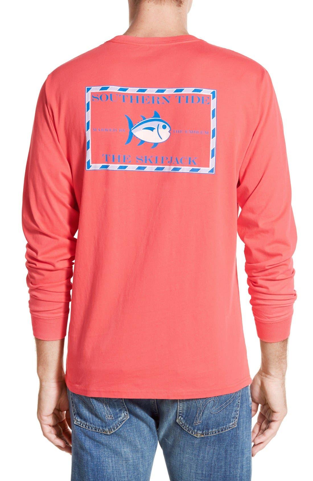 'Skipjack'Long Sleeve Graphic T-Shirt,                             Main thumbnail 9, color,