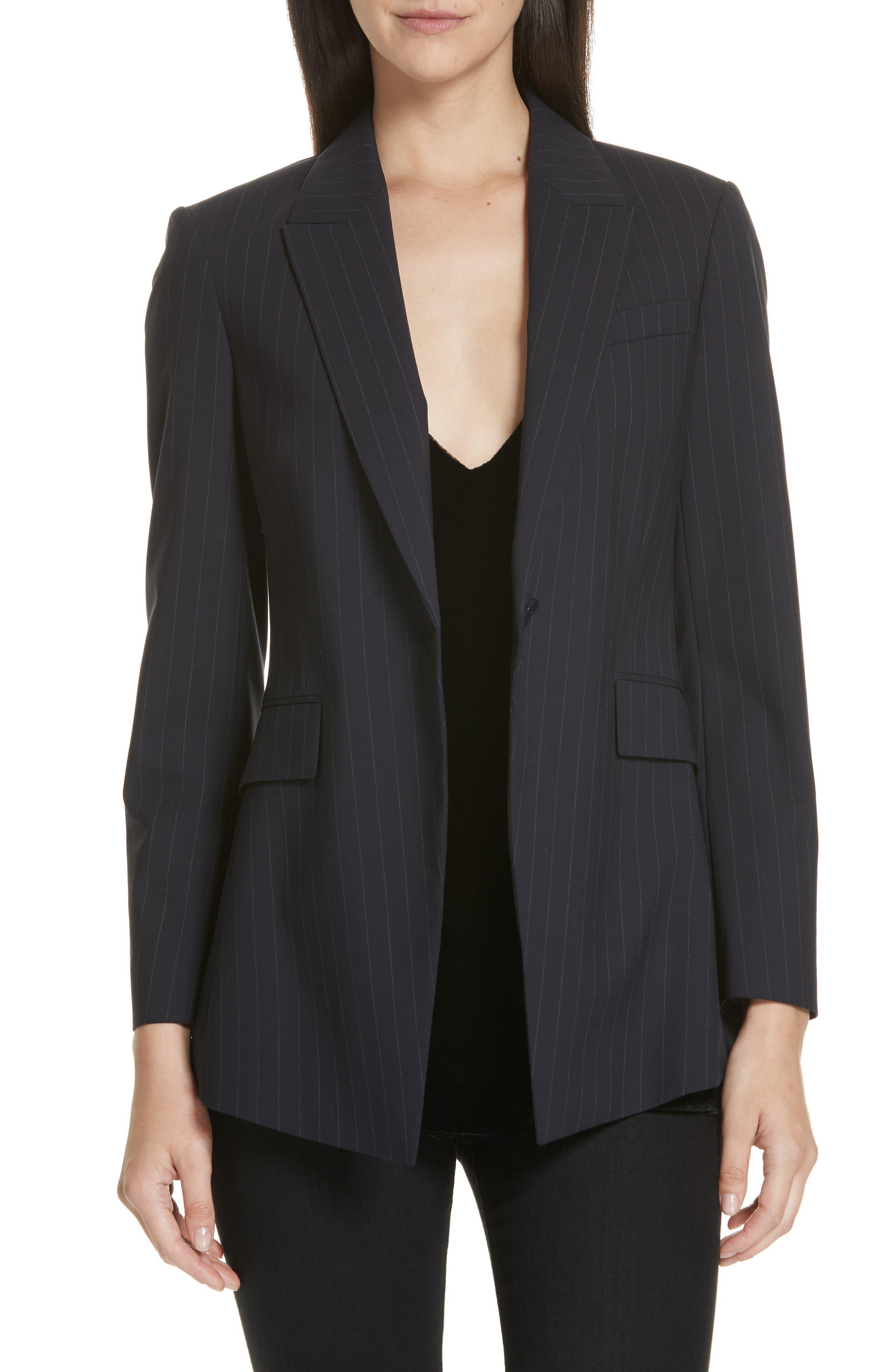 Etienette B Good Wool Suit Jacket,                             Main thumbnail 3, color,