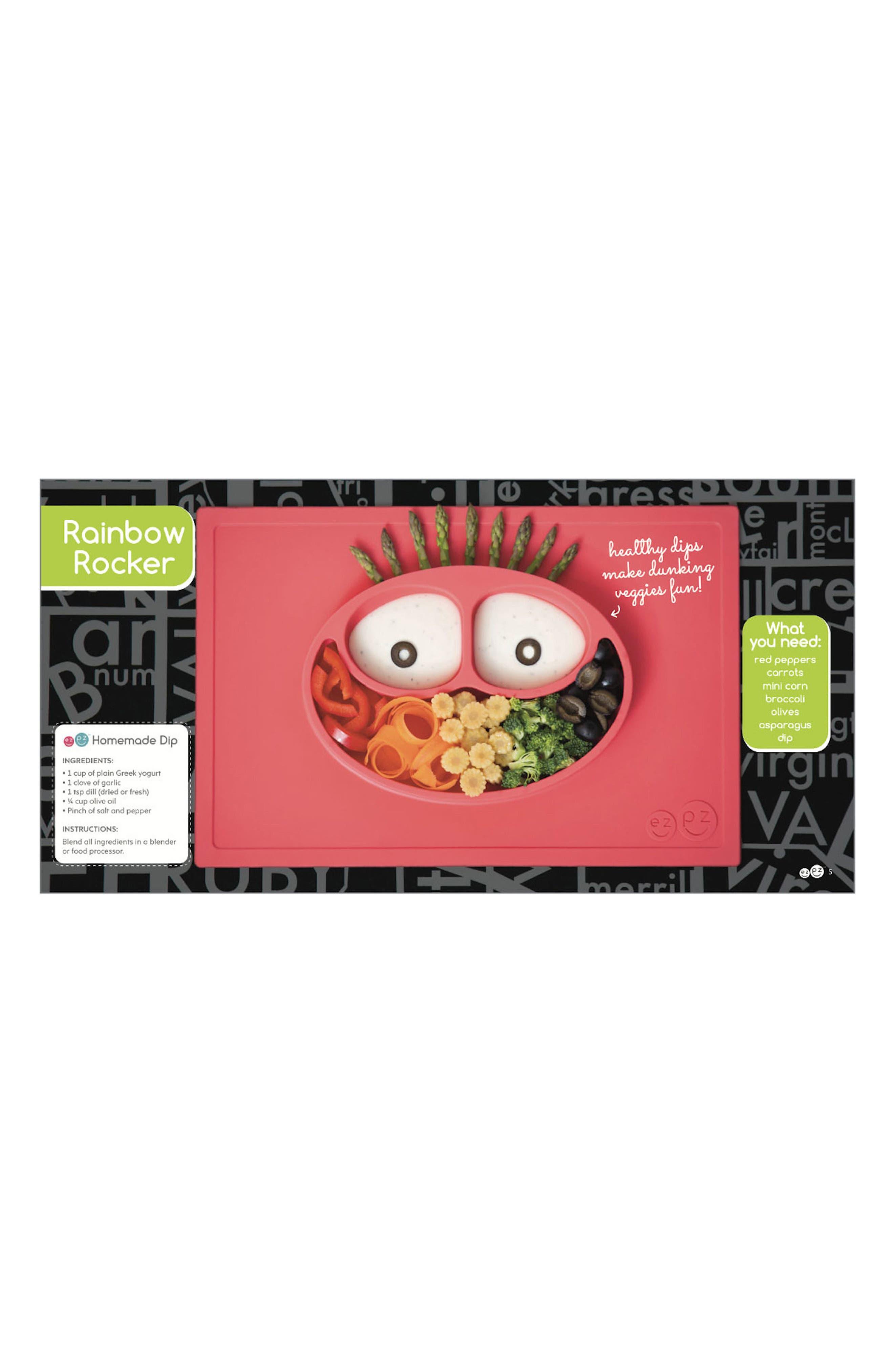Happy Mat Feeding Mat & Hardcover Book Set,                             Alternate thumbnail 4, color,