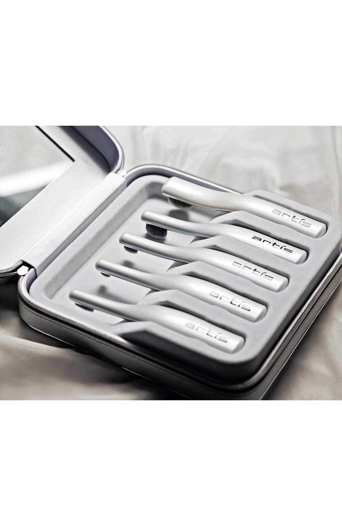 The Digit 5-Brush Set in Luxury Case,                             Alternate thumbnail 4, color,                             NO COLOR