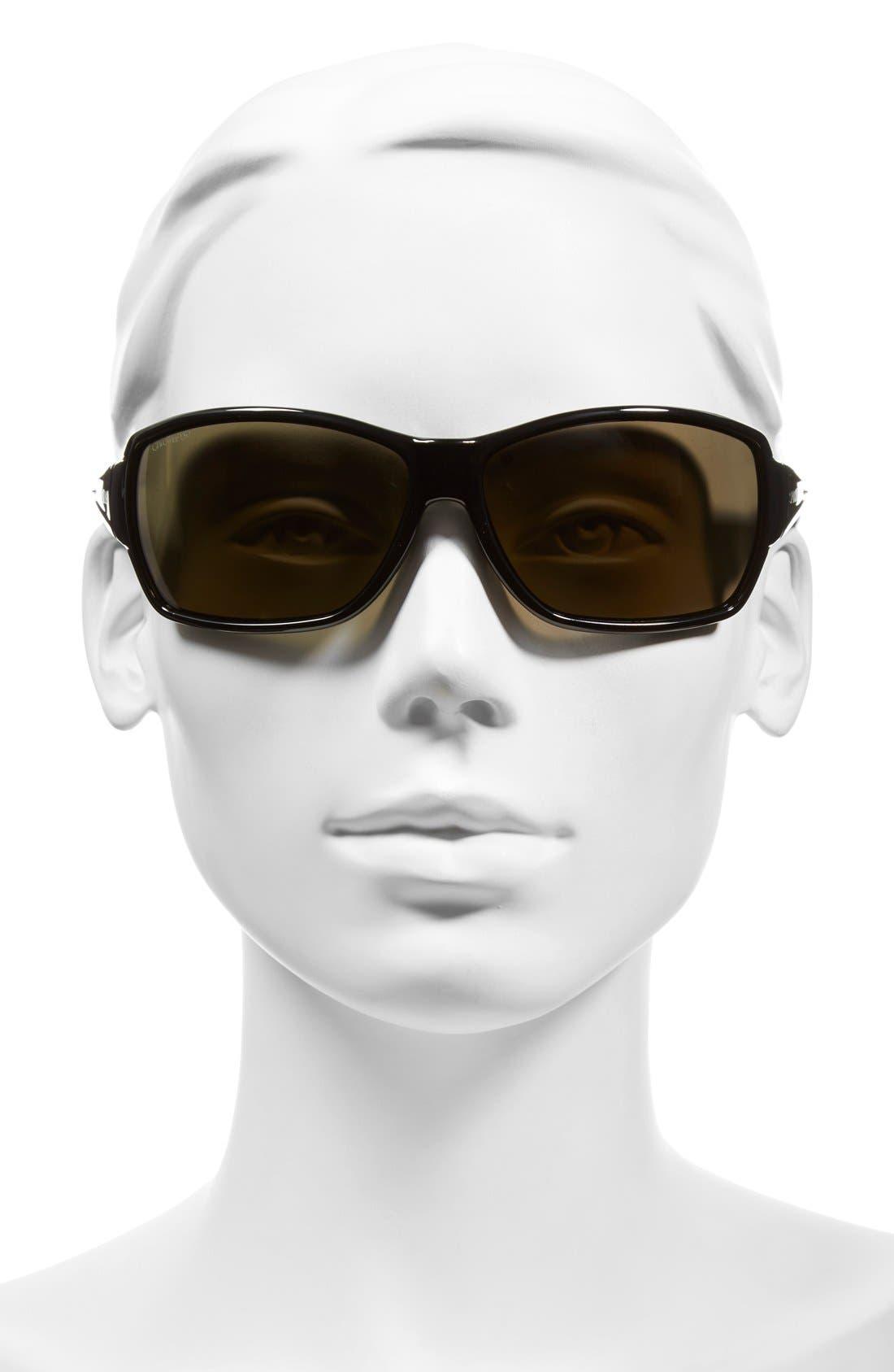 'Pace' 65mm ChromaPop<sup>™</sup> Polarized Sunglasses,                             Alternate thumbnail 2, color,                             001