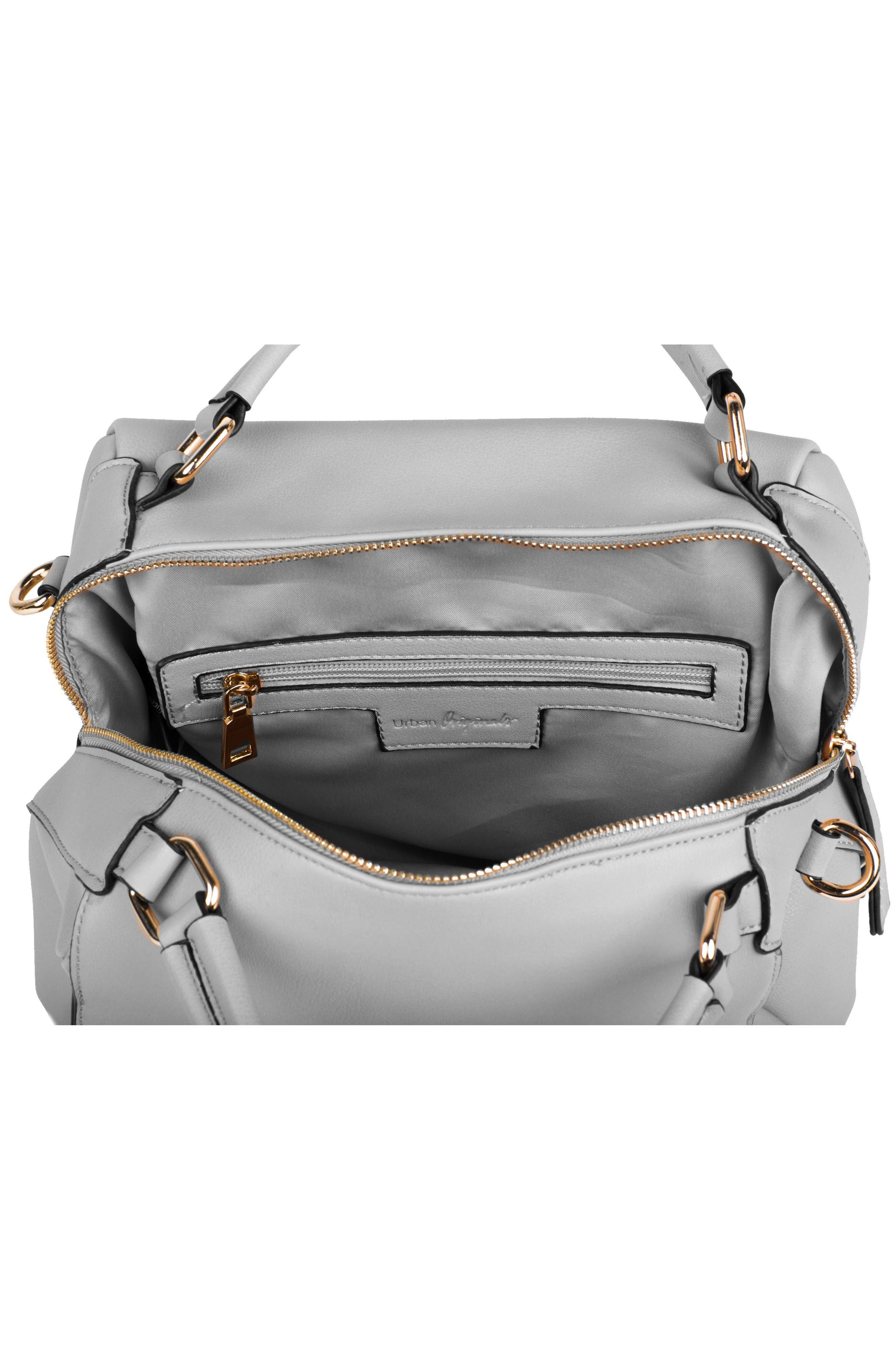 Twilight Vegan Leather Convertible Tote Bag,                             Alternate thumbnail 3, color,                             020