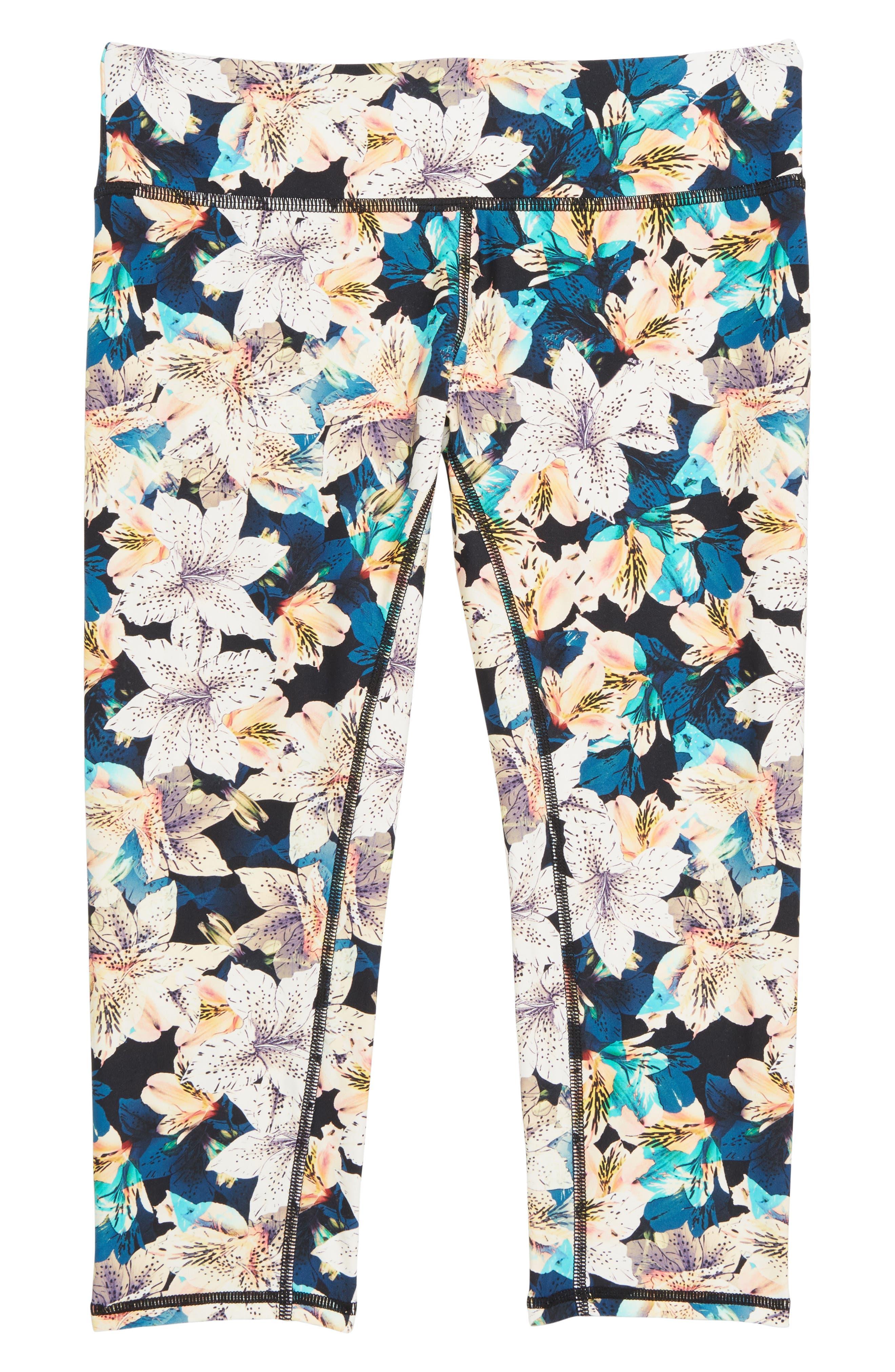 Tiller Capri Swim Pants,                         Main,                         color, 001