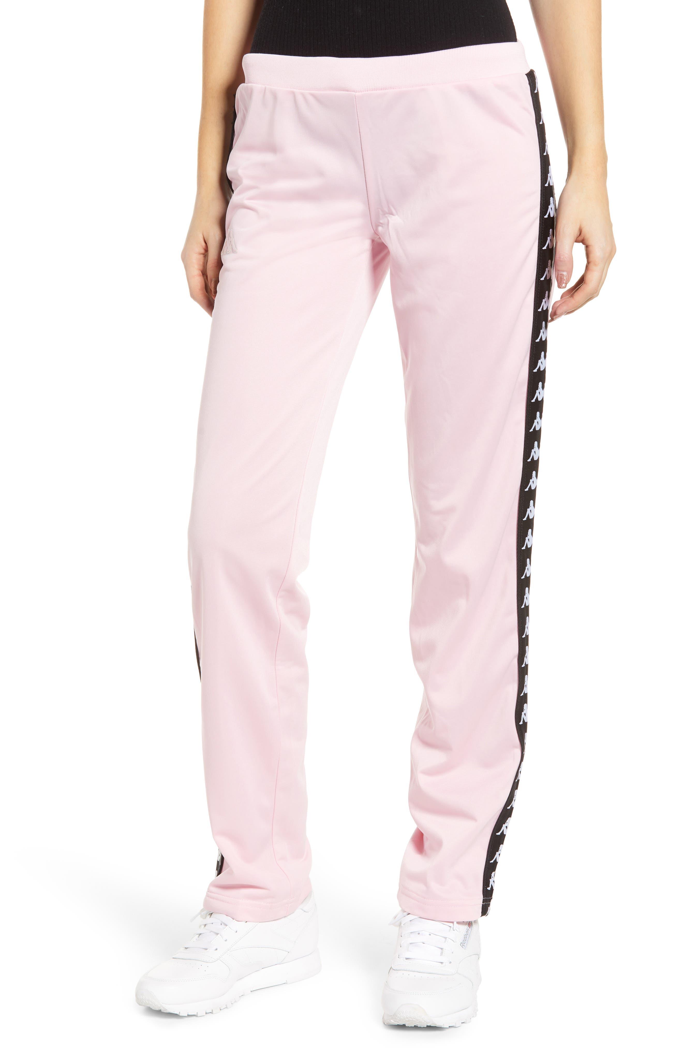 Active Wastoria Track Pants,                         Main,                         color, PINK/ BLACK