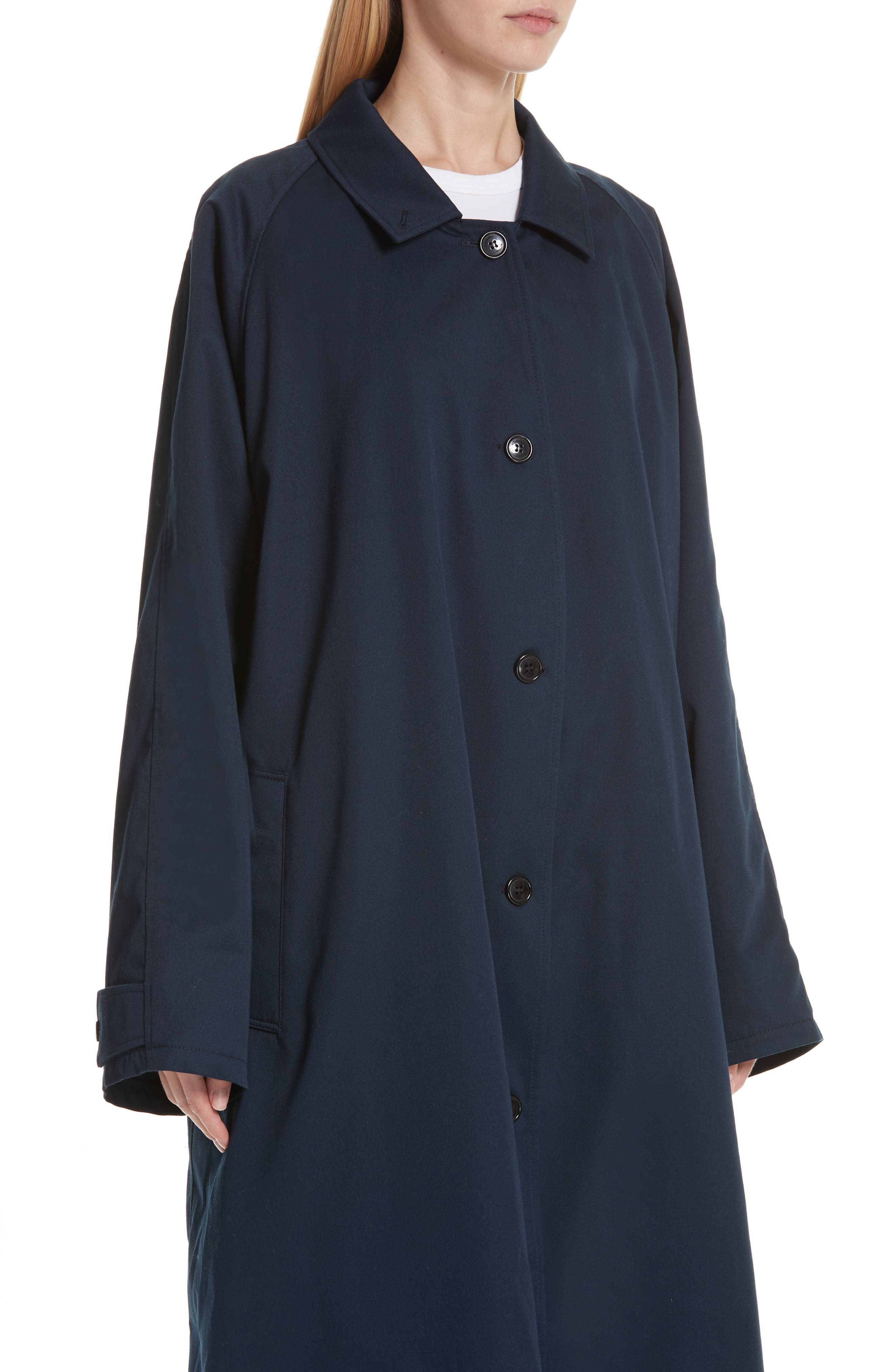 Scarf Trench Coat,                             Alternate thumbnail 4, color,                             410