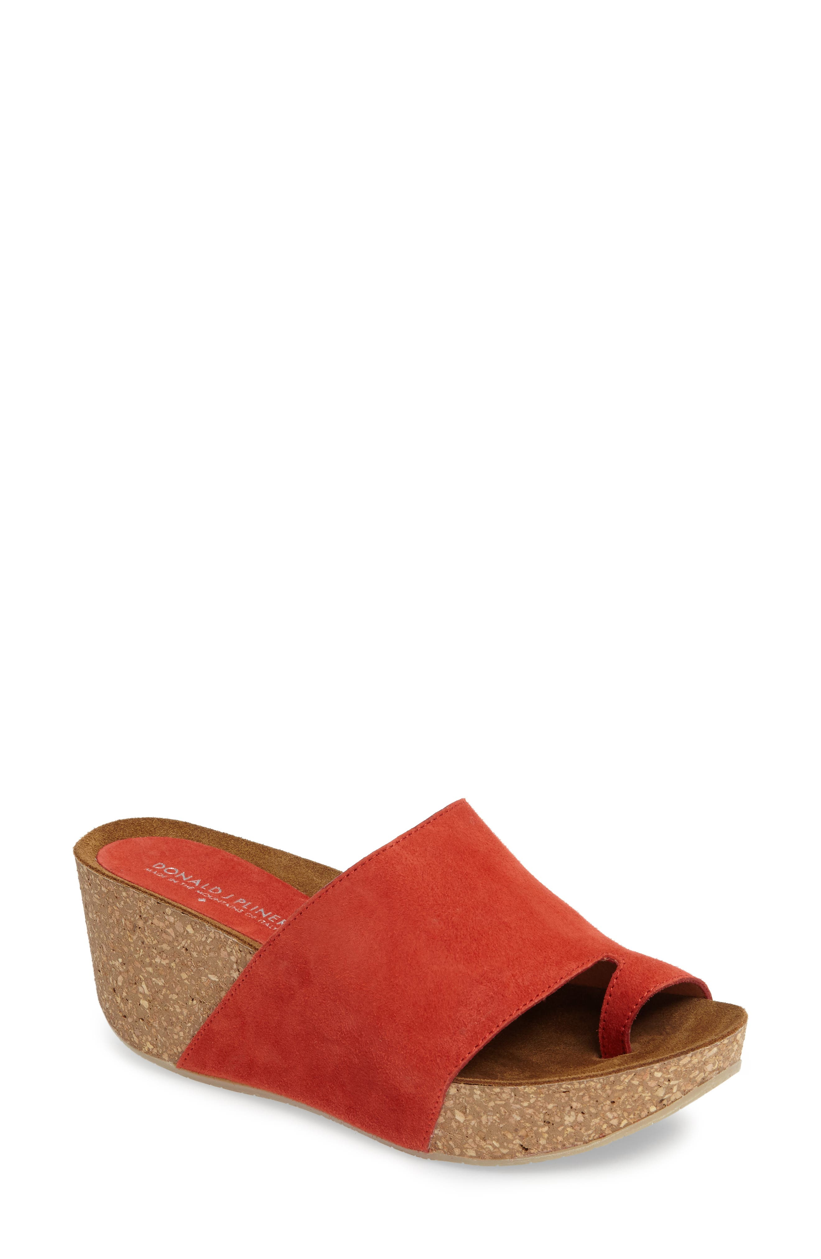 Donald J Pliner Ginie Platform Wedge Sandal,                             Main thumbnail 7, color,