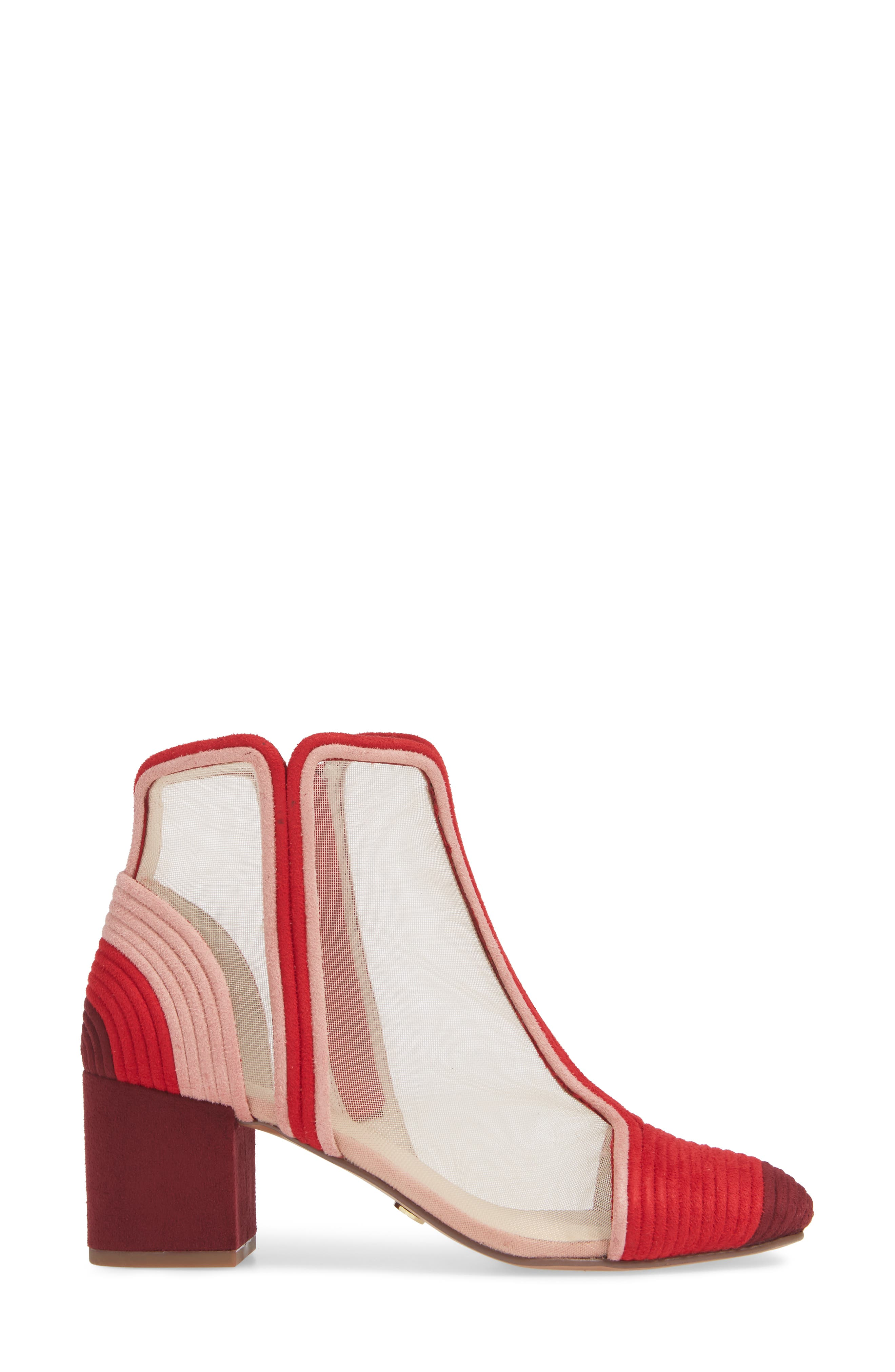 CECELIA NEW YORK,                             Neely Bootie,                             Alternate thumbnail 3, color,                             PINOT SUEDE