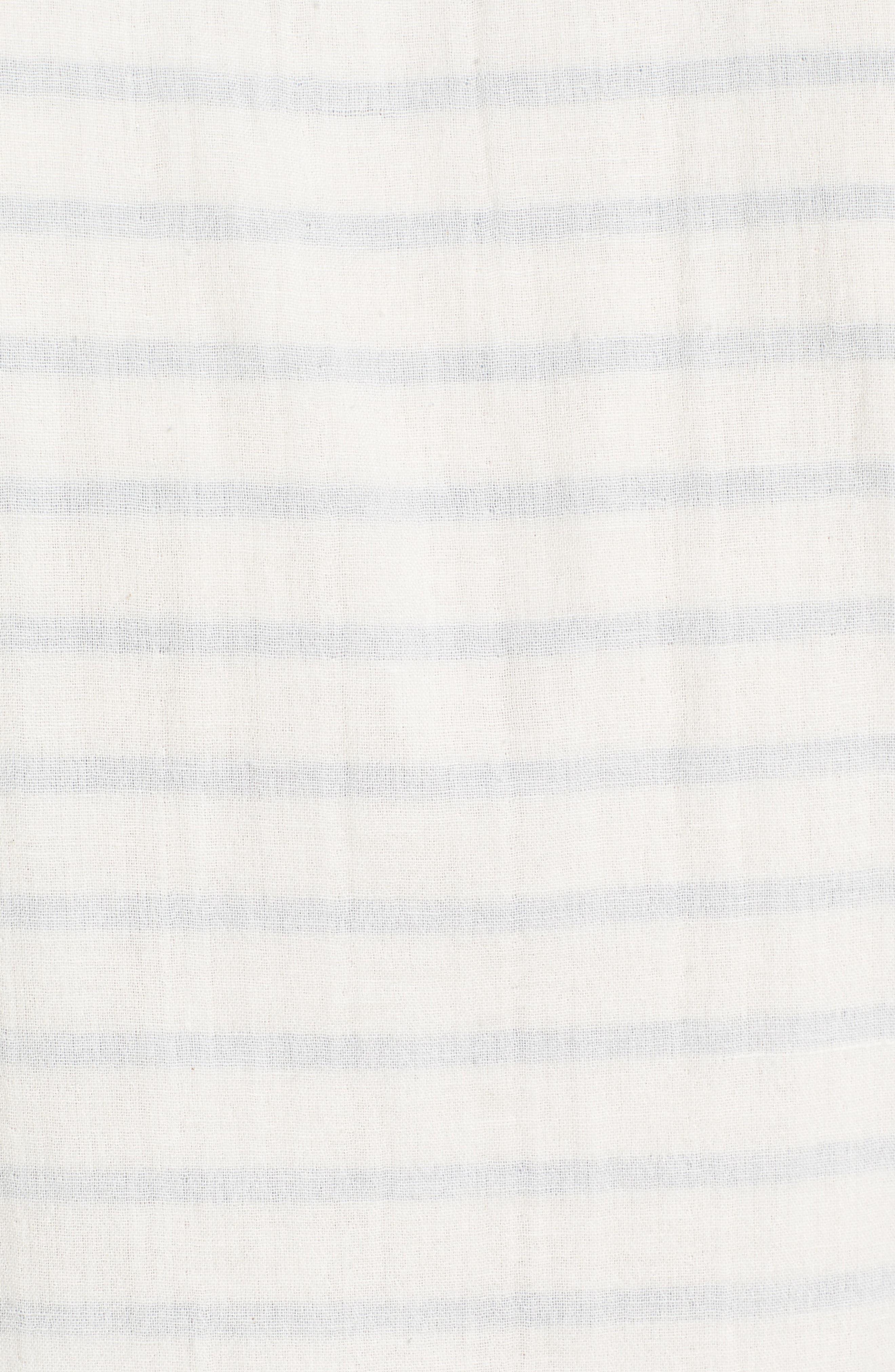 Newport Stripe Sport Shirt,                             Alternate thumbnail 5, color,                             100