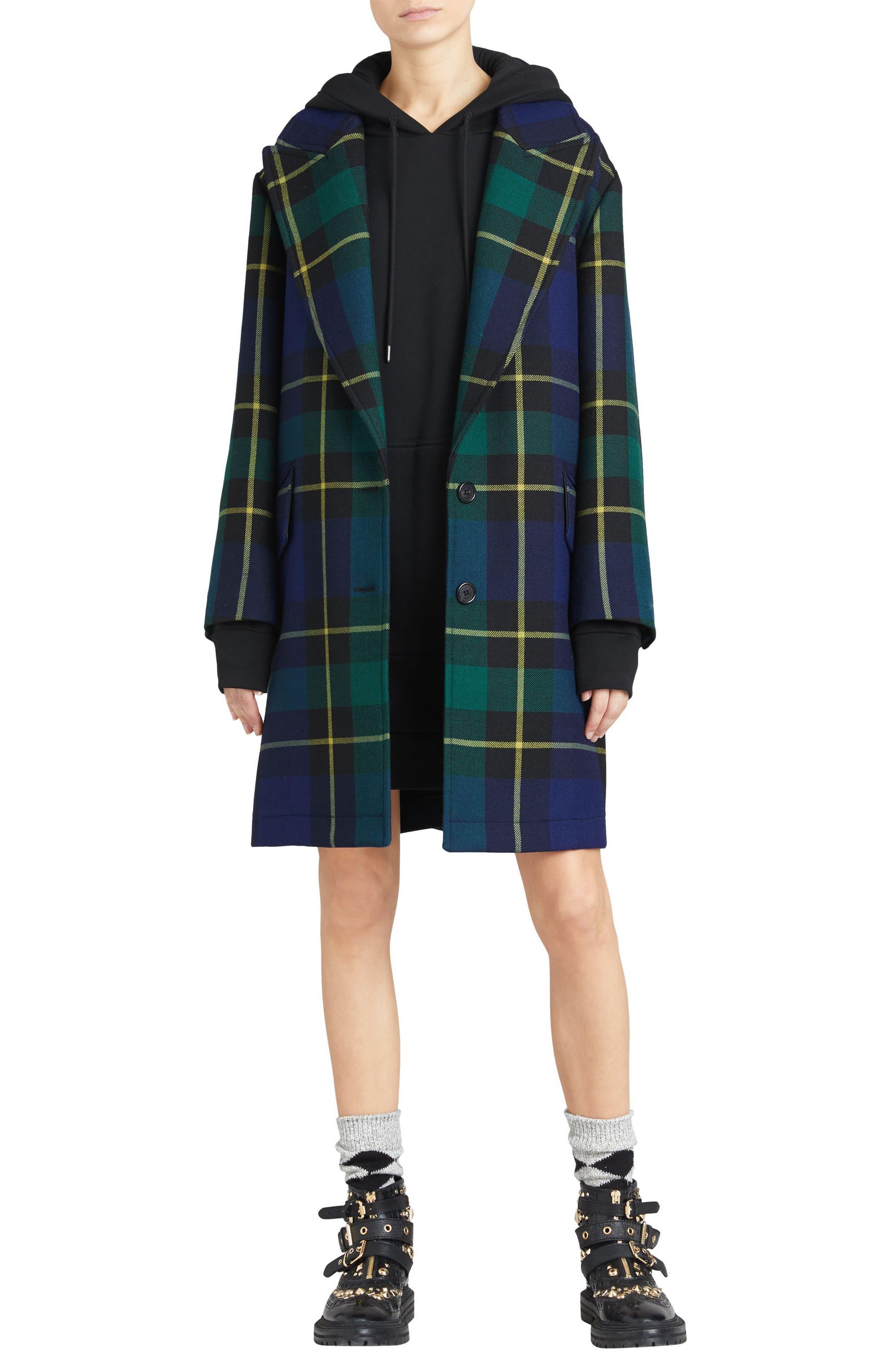 Cardeiver Jersey Sweatshirt Dress,                             Alternate thumbnail 7, color,                             001
