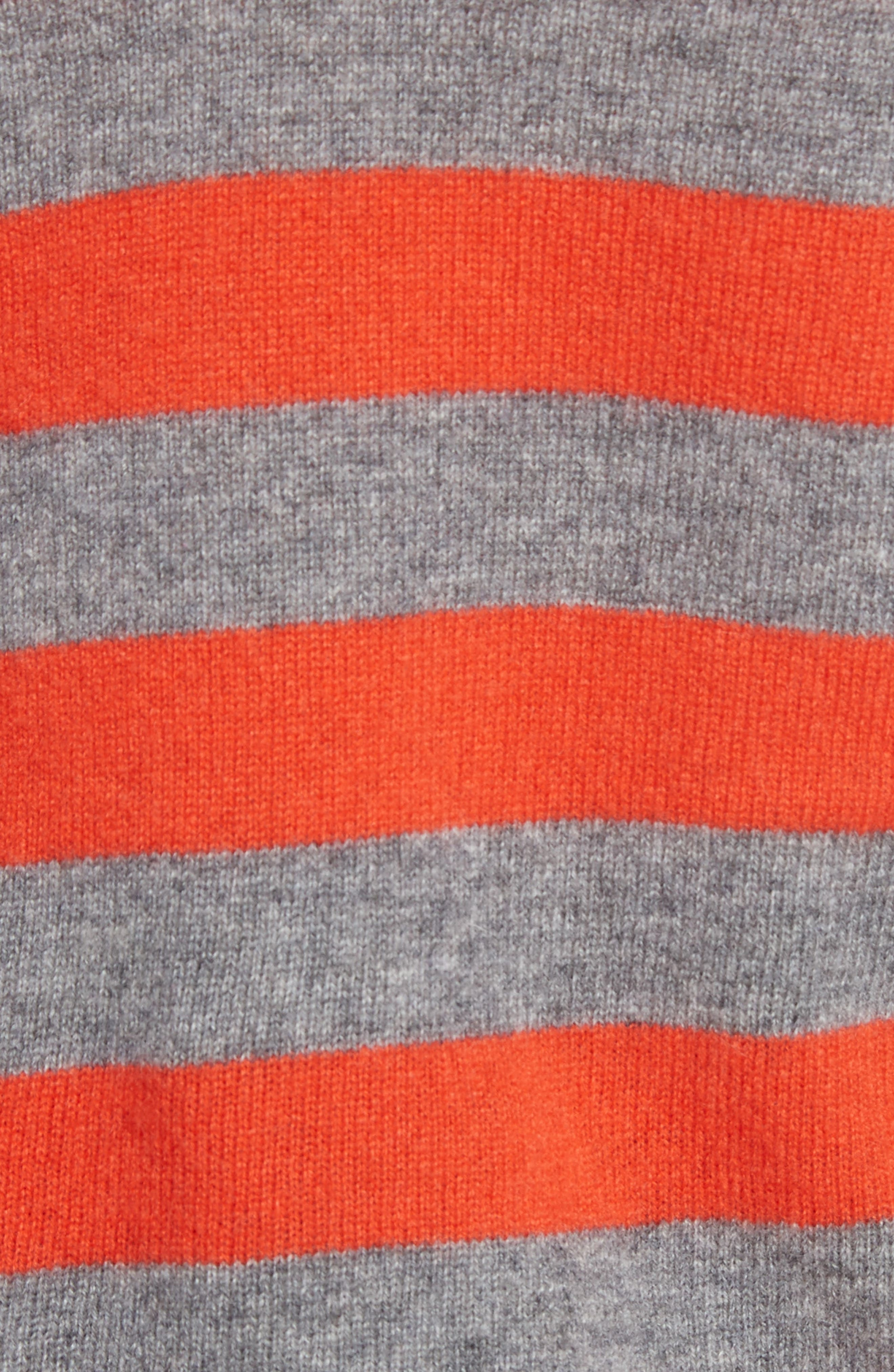 Baxley Stripe Cashmere Sweater,                             Alternate thumbnail 5, color,