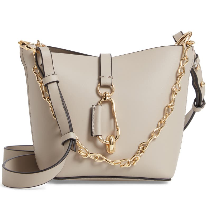 Zac Posen Belay Mini Leather Hobo Bag