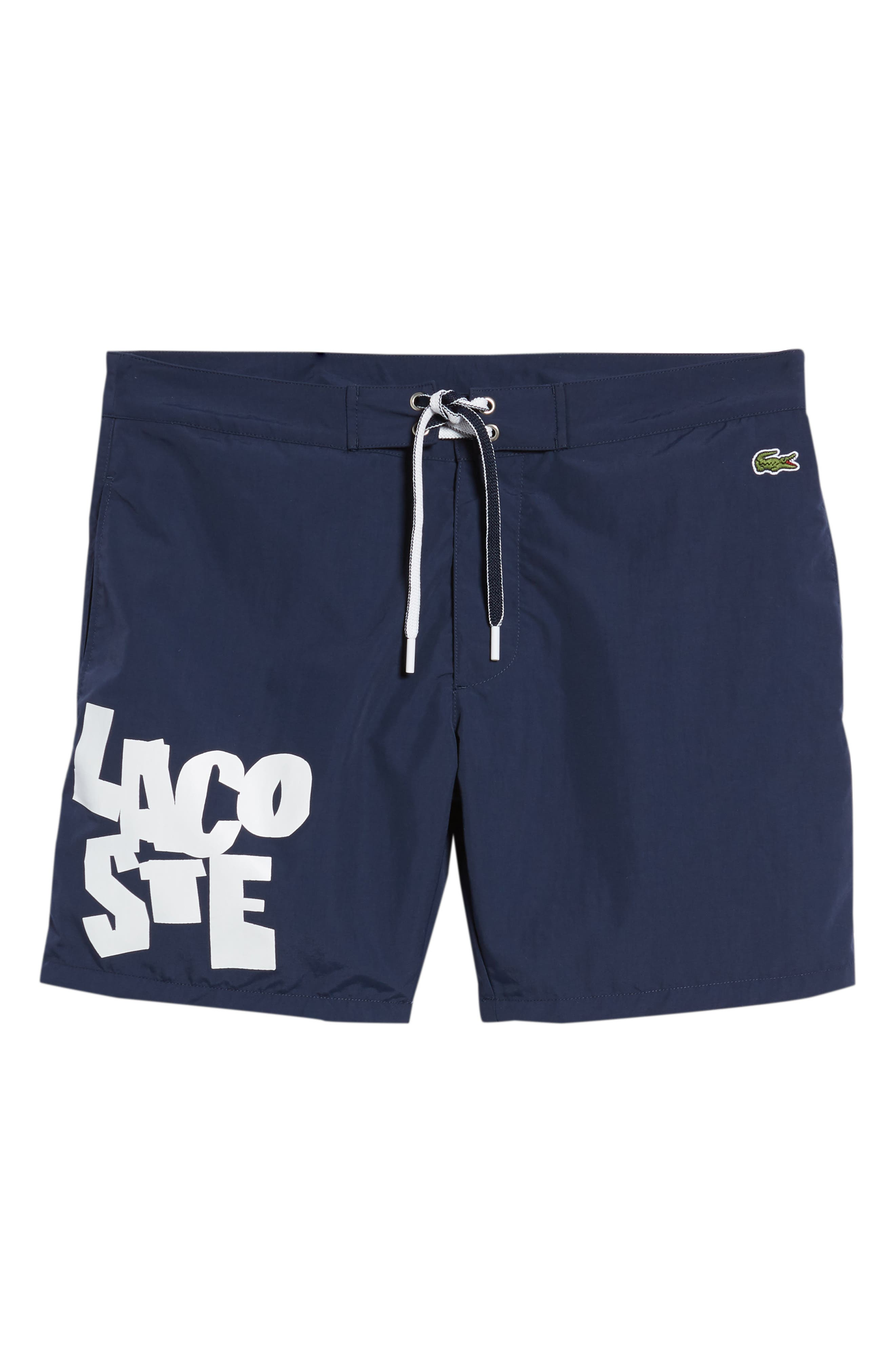 Graphic Swim Trunks,                             Alternate thumbnail 6, color,                             410