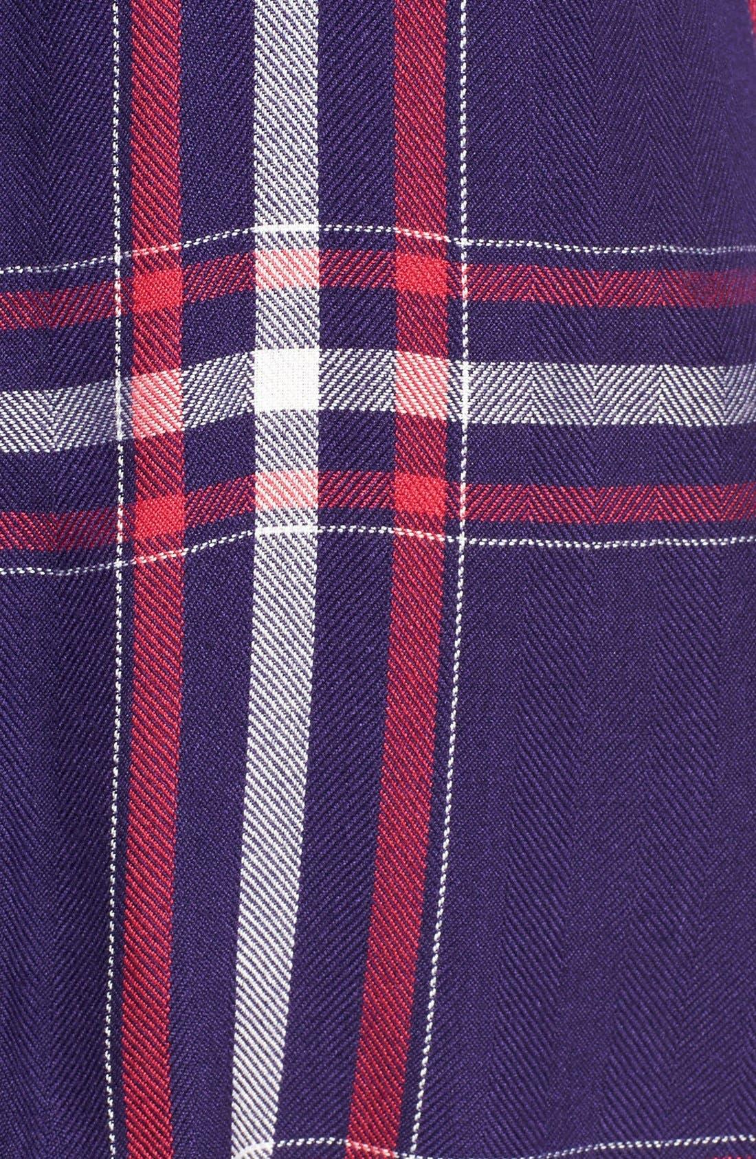 Hunter Plaid Shirt,                             Alternate thumbnail 660, color,