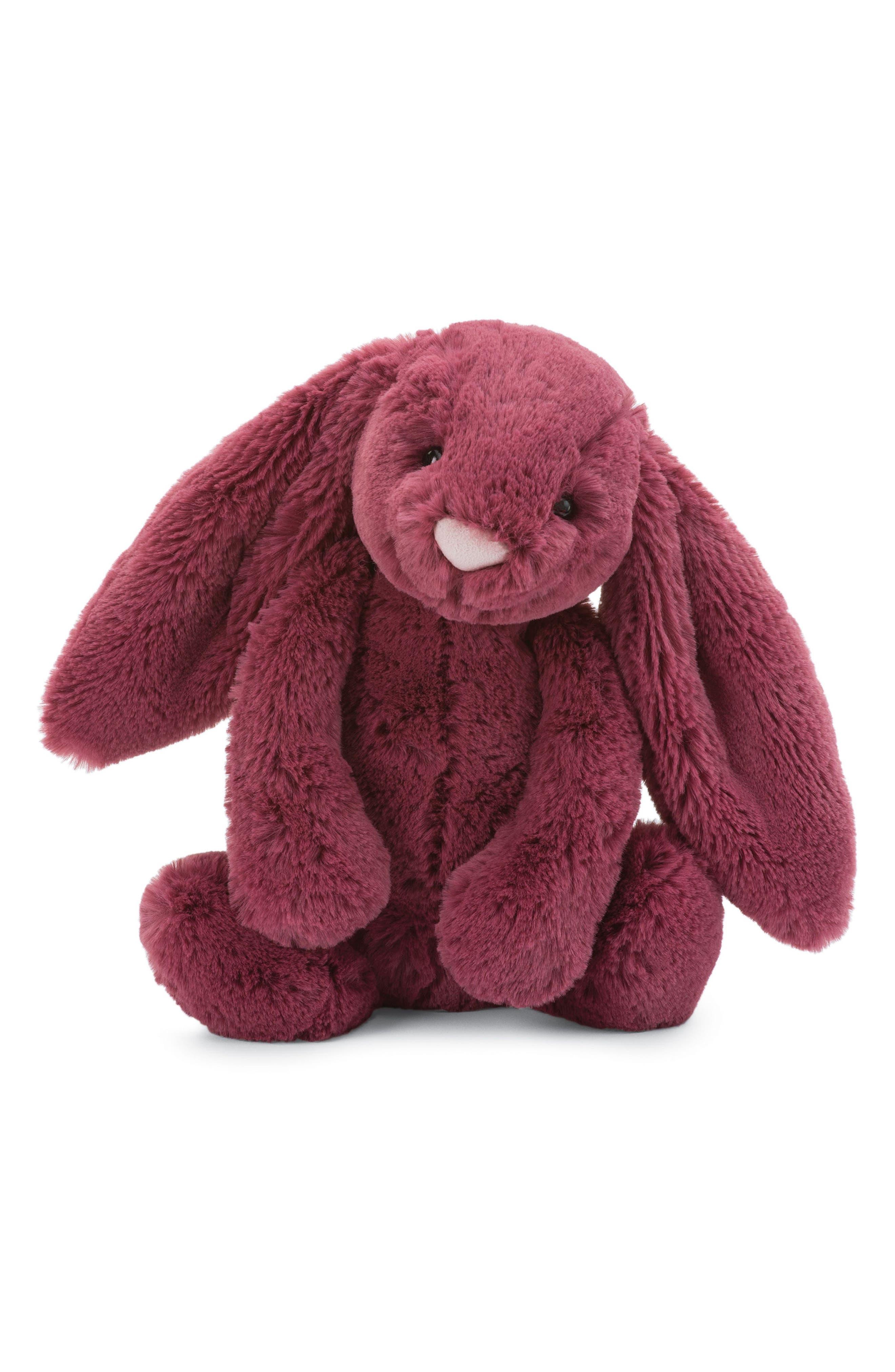 Bashful Berry Bunny Stuffed Animal,                             Main thumbnail 1, color,                             610