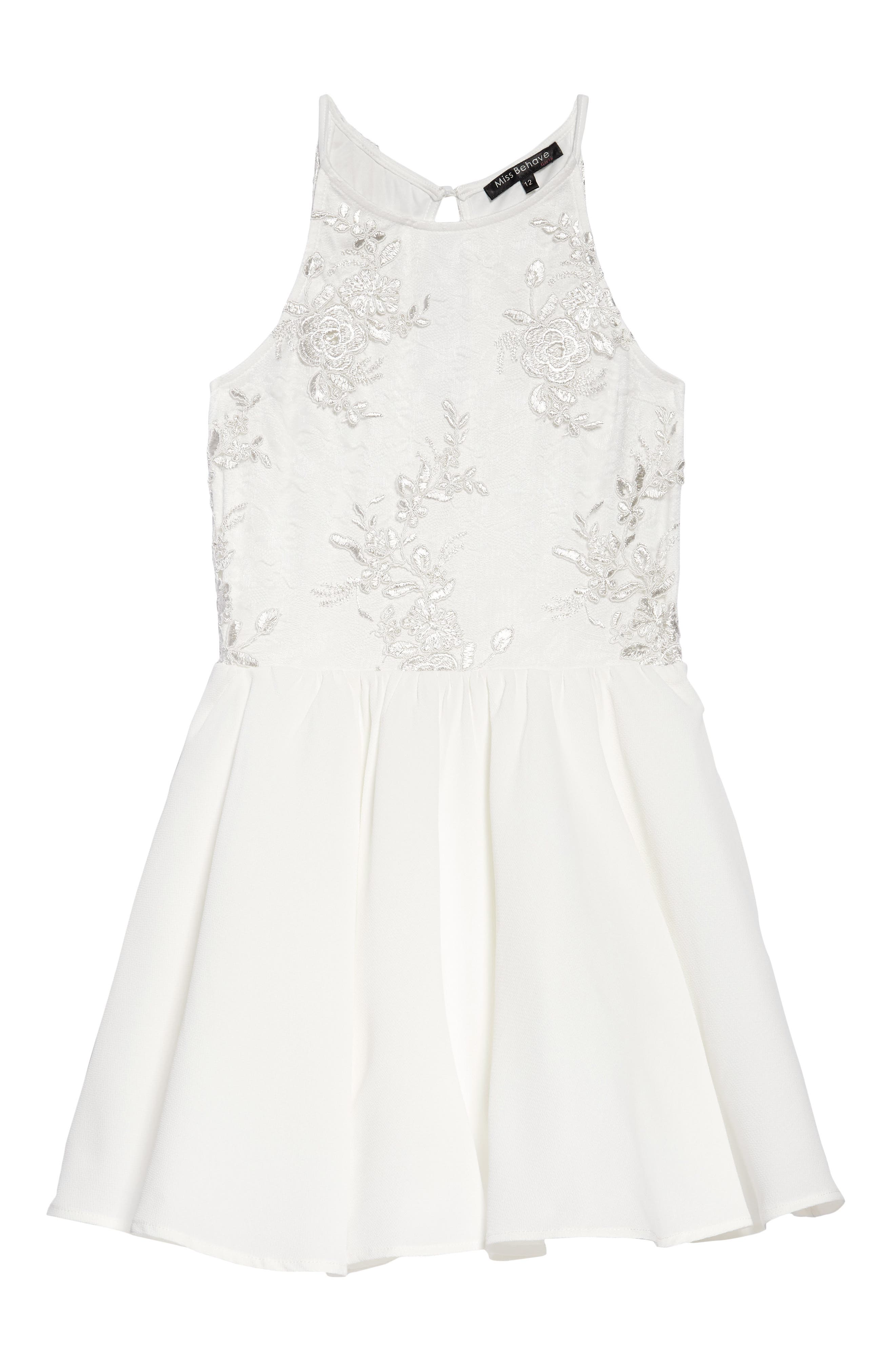 Margaret Lace Party Dress,                         Main,                         color, 101
