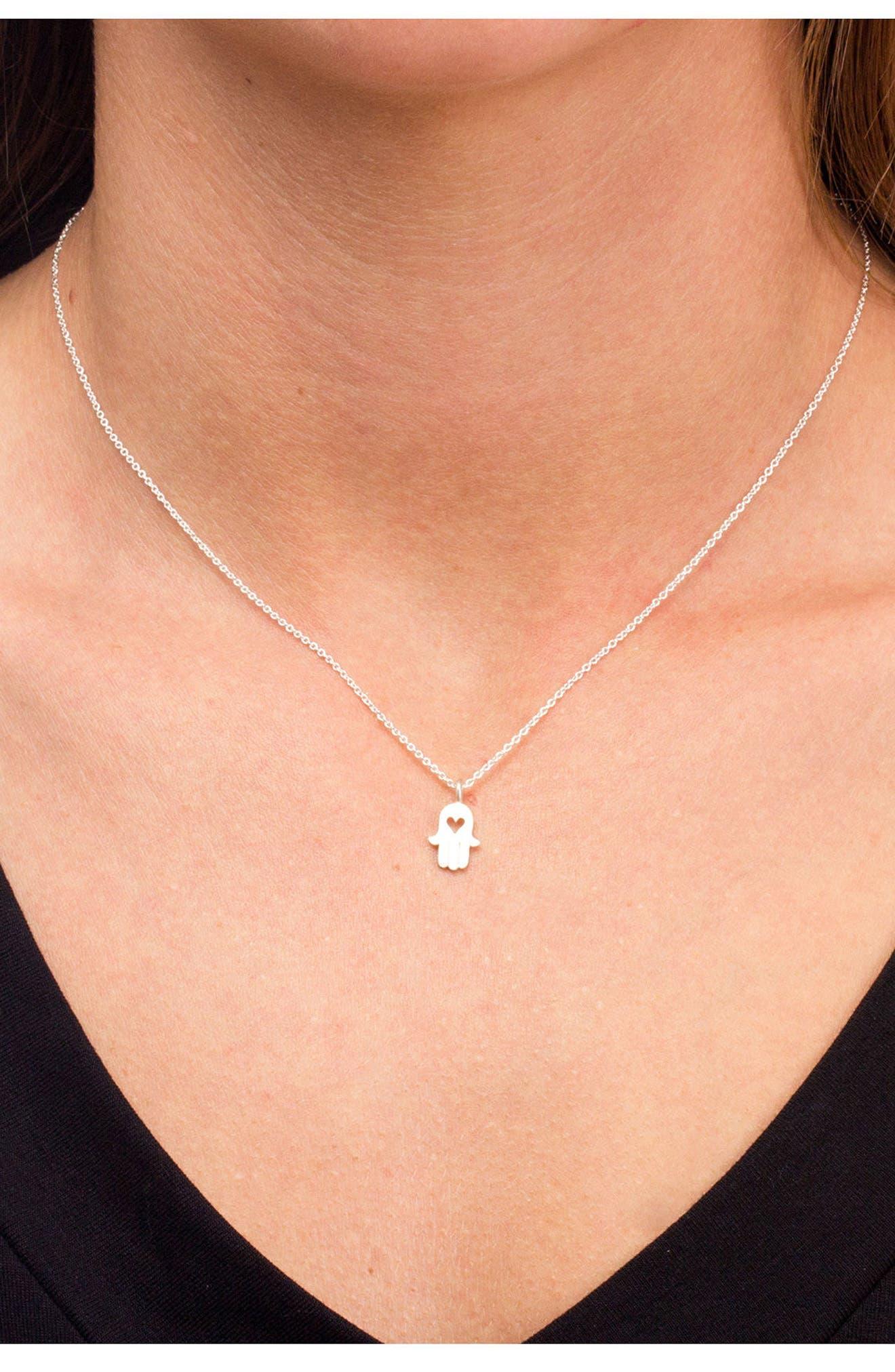 Love & Protection Pendant Necklace,                             Alternate thumbnail 2, color,                             042