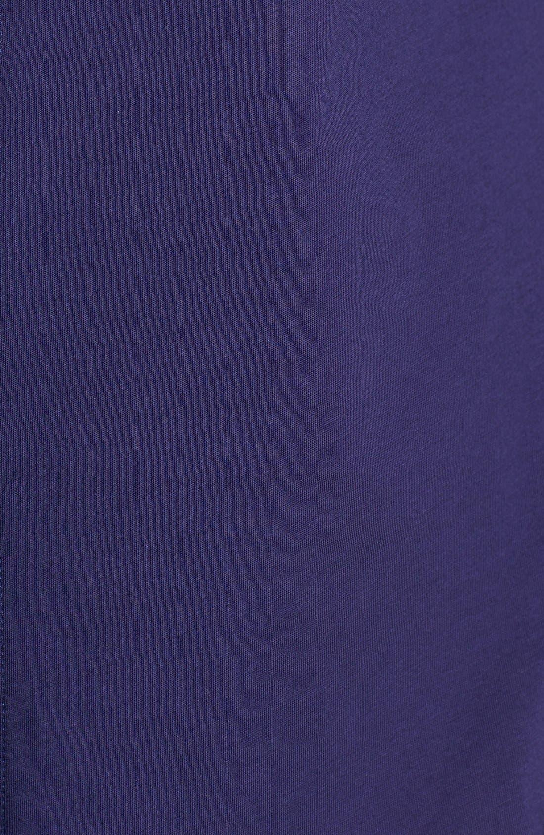 Organic Cotton Jersey Classic Collar Shirt,                             Alternate thumbnail 21, color,