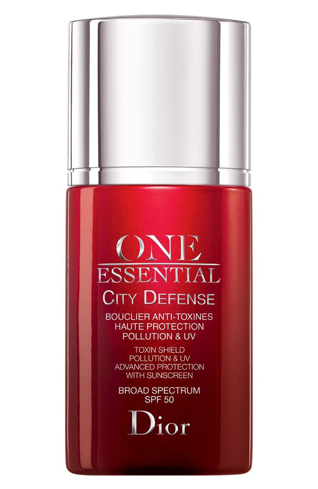 One Essential City Defense Toxin Shield Pollution & UV Advanced Protection SPF 50,                             Main thumbnail 1, color,                             NO COLOR