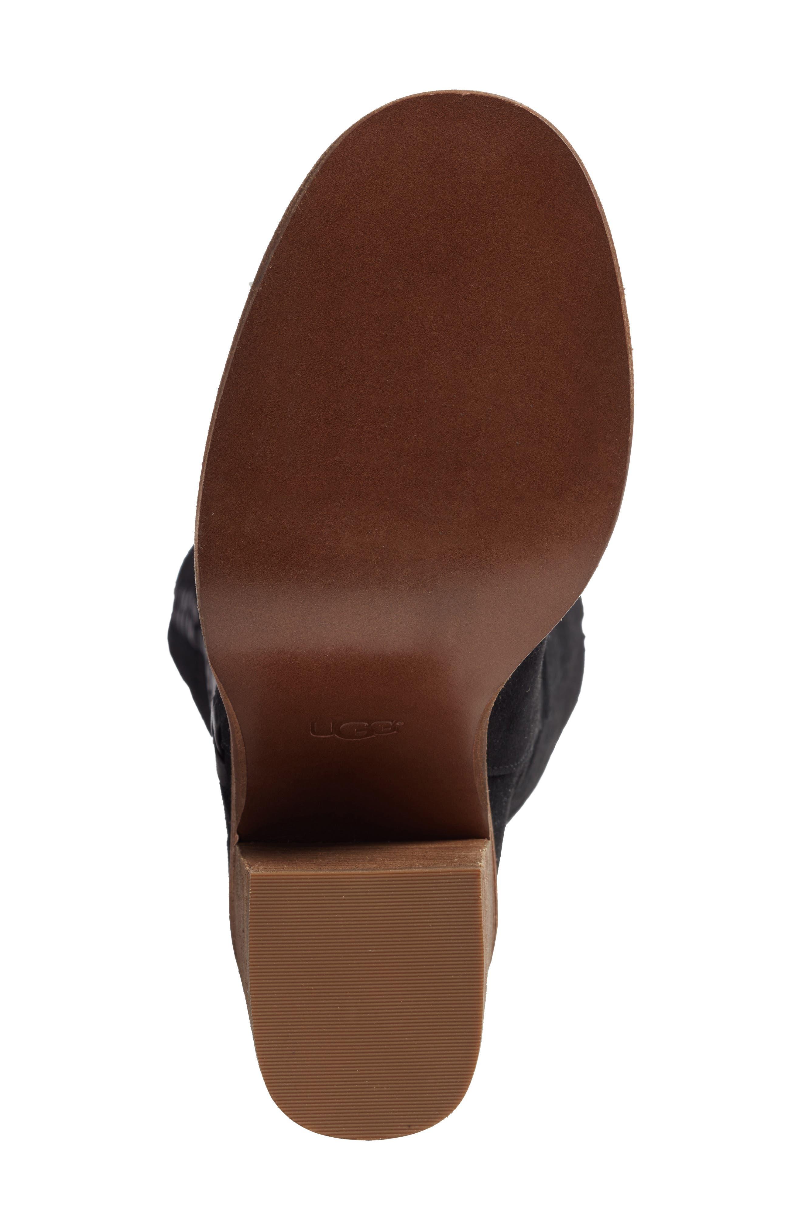 Maeva Knee High Boot,                             Alternate thumbnail 6, color,                             001