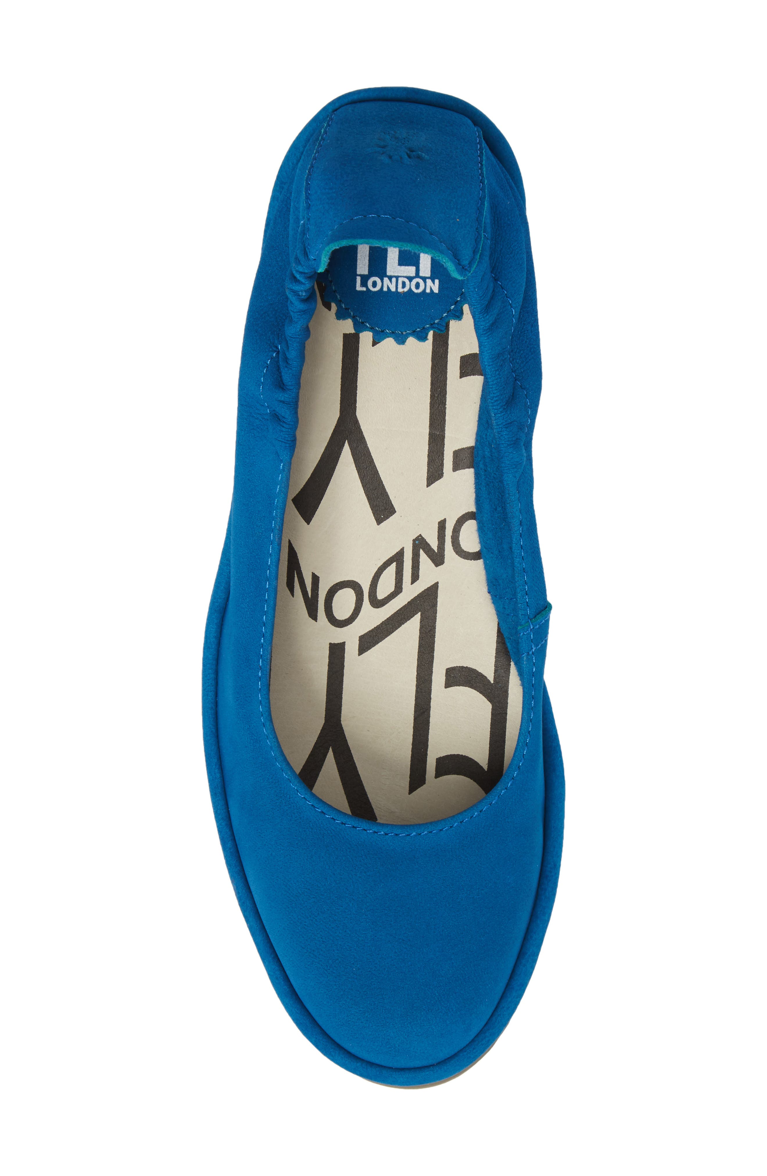 Pled Wedge,                             Alternate thumbnail 5, color,                             ELECTRIC BLUE CUPIDO LEATHER