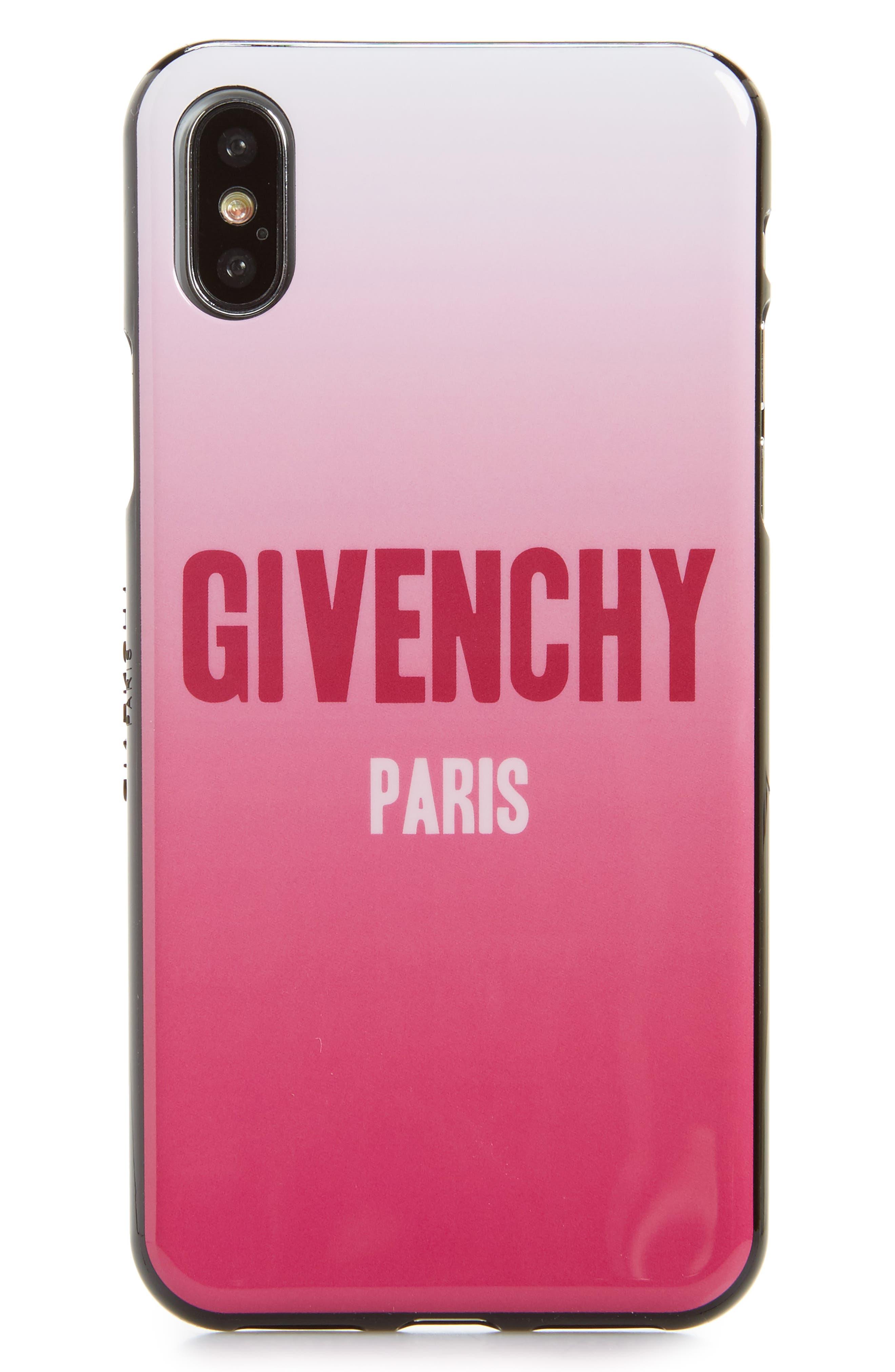Gradient iPhone X Case,                             Main thumbnail 1, color,                             650