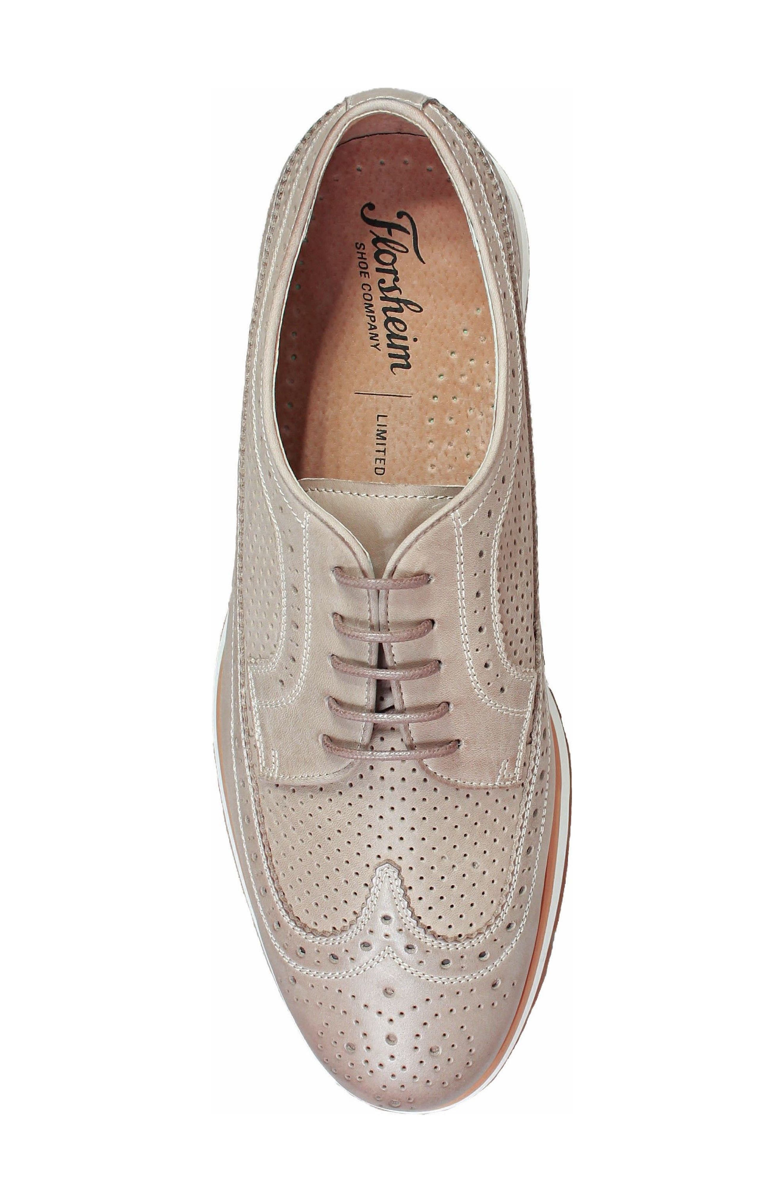 Limited Flux Perforated Wingtip Derby,                             Alternate thumbnail 14, color,